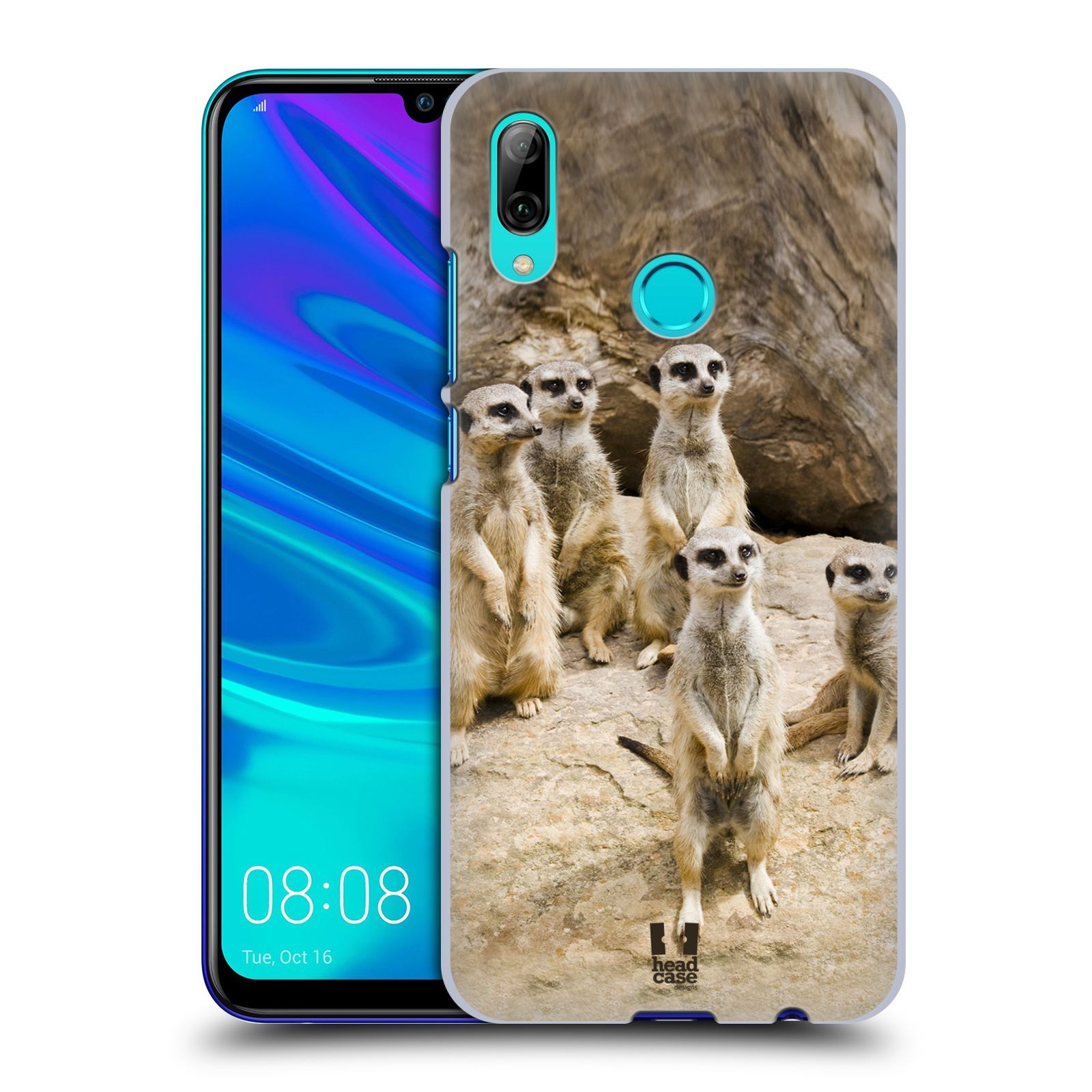 Plastové pouzdro na mobil Huawei P Smart (2019) - Head Case - DIVOČINA – SURIKATY