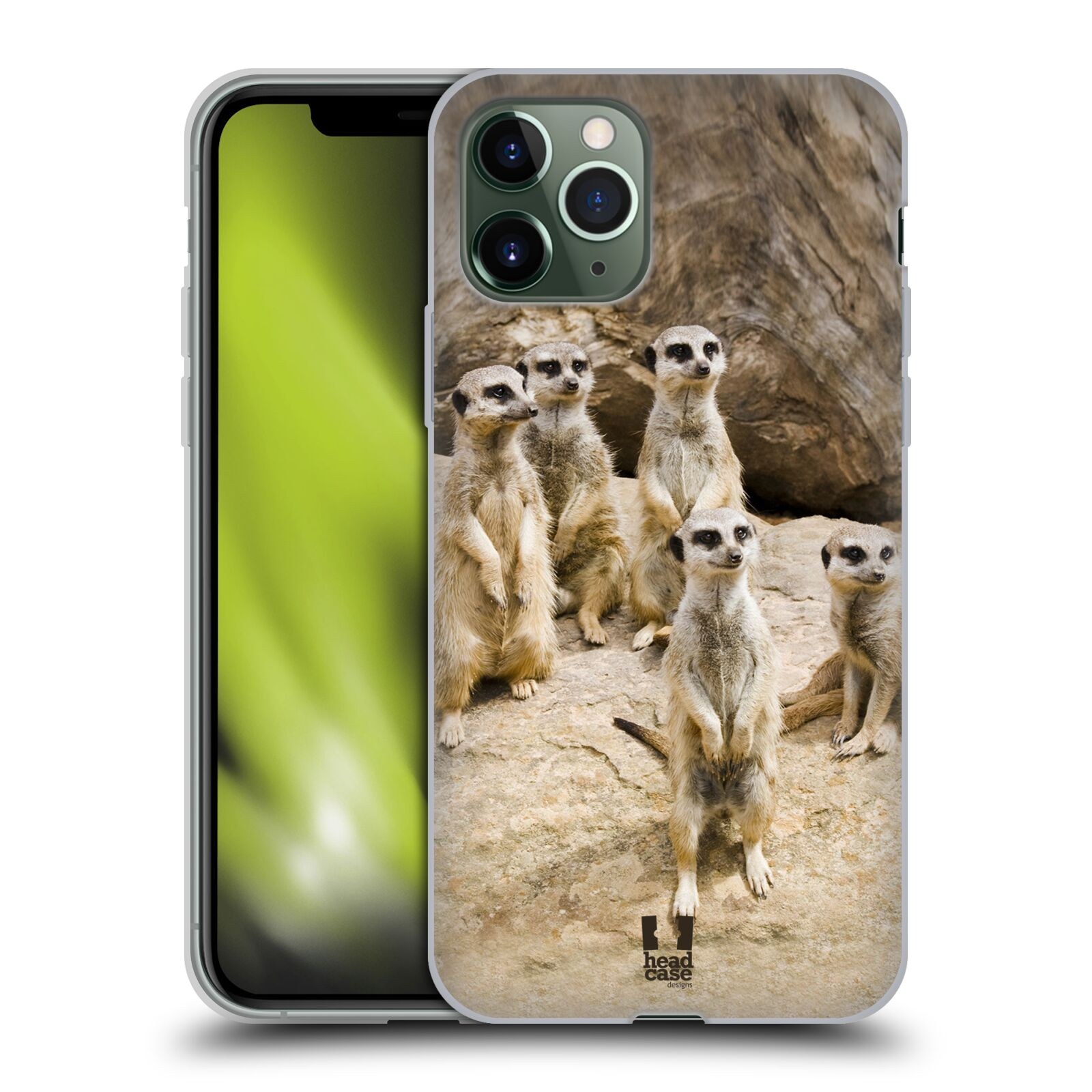 gucci iphone x case donald duck | Silikonové pouzdro na mobil Apple iPhone 11 Pro - Head Case - DIVOČINA – SURIKATY