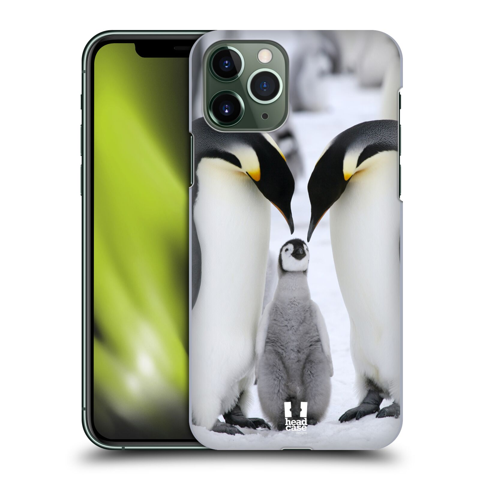 kryt na iphone 6 ruzovy - Plastové pouzdro na mobil Apple iPhone 11 Pro - Head Case - DIVOČINA – TUČŇÁCI