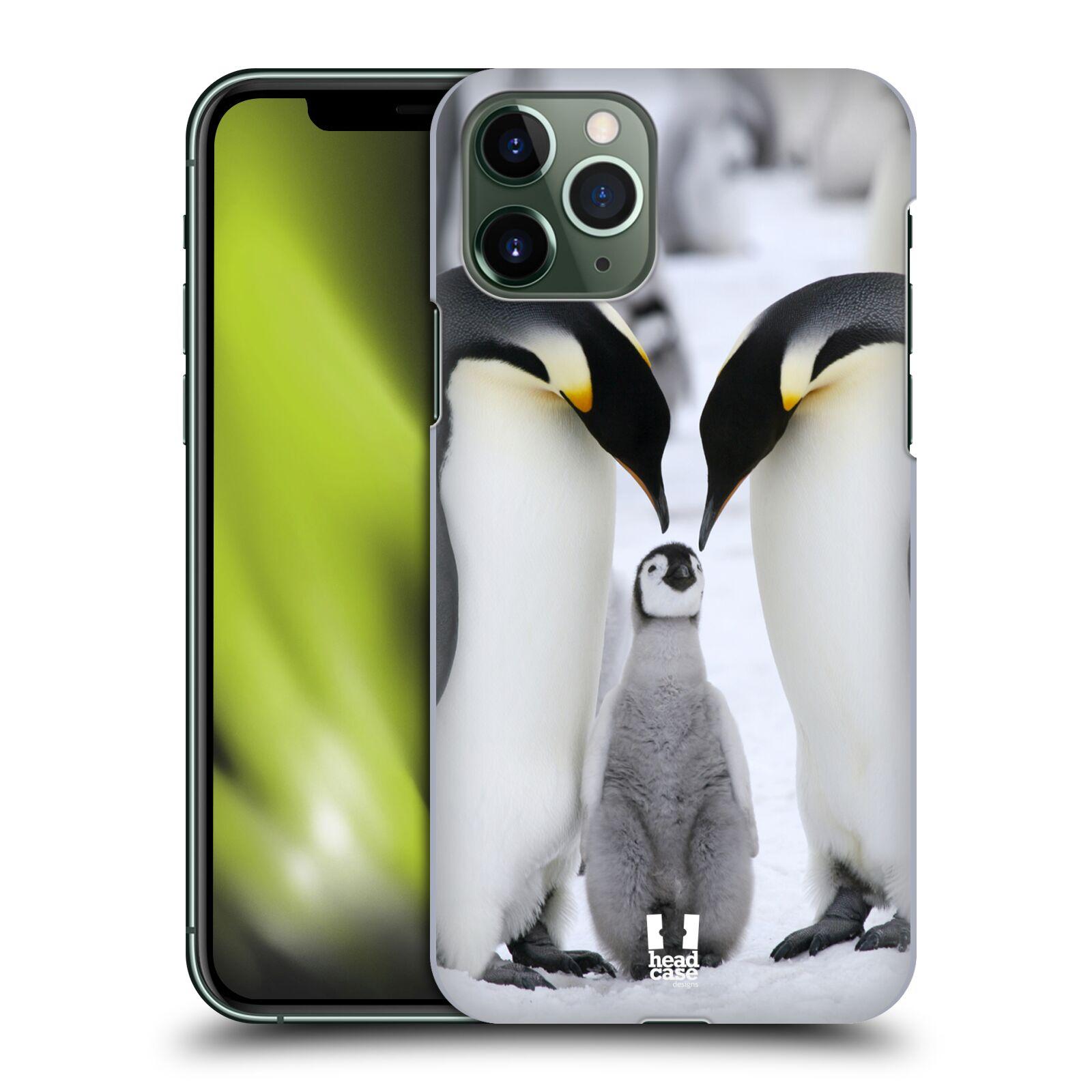 pouzdro iphone 11 pro , Plastové pouzdro na mobil Apple iPhone 11 Pro - Head Case - DIVOČINA – TUČŇÁCI