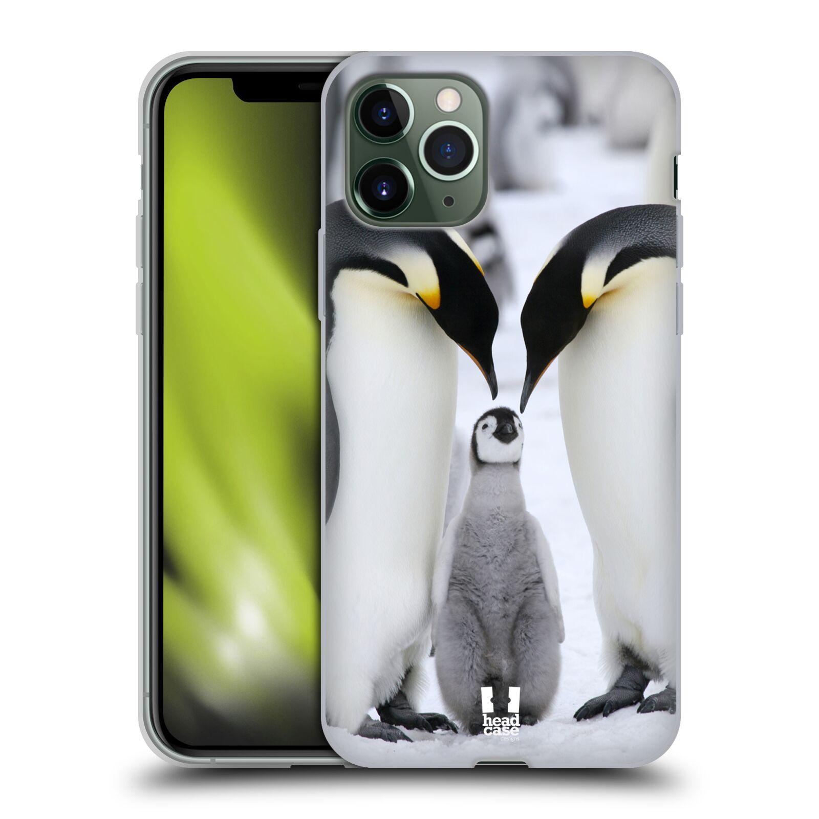 ebay obaly iphone 6 , Silikonové pouzdro na mobil Apple iPhone 11 Pro - Head Case - DIVOČINA – TUČŇÁCI