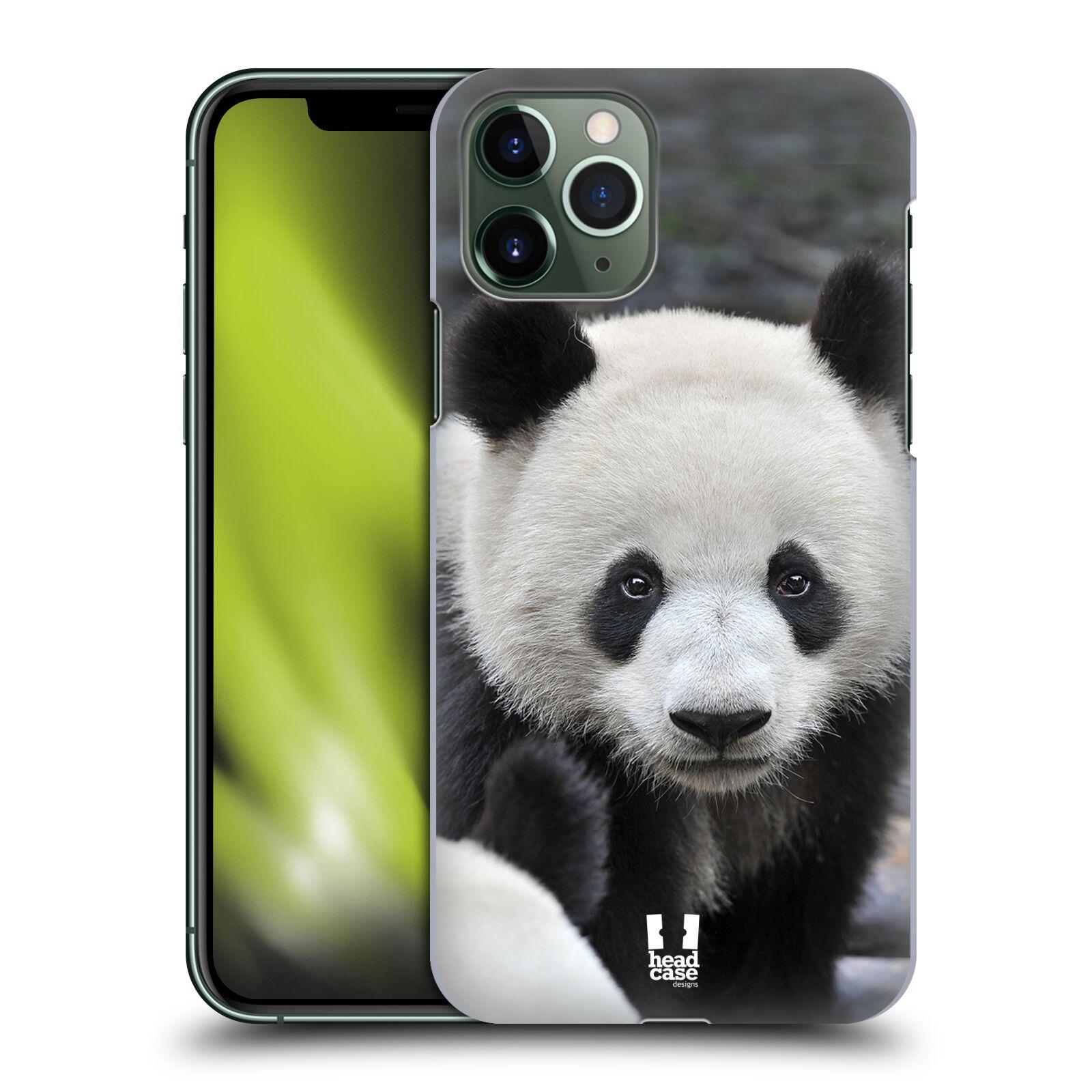 Hermes Pouzdra iPhone 8 plus - Plastové pouzdro na mobil Apple iPhone 11 Pro - Head Case - DIVOČINA – PANDA