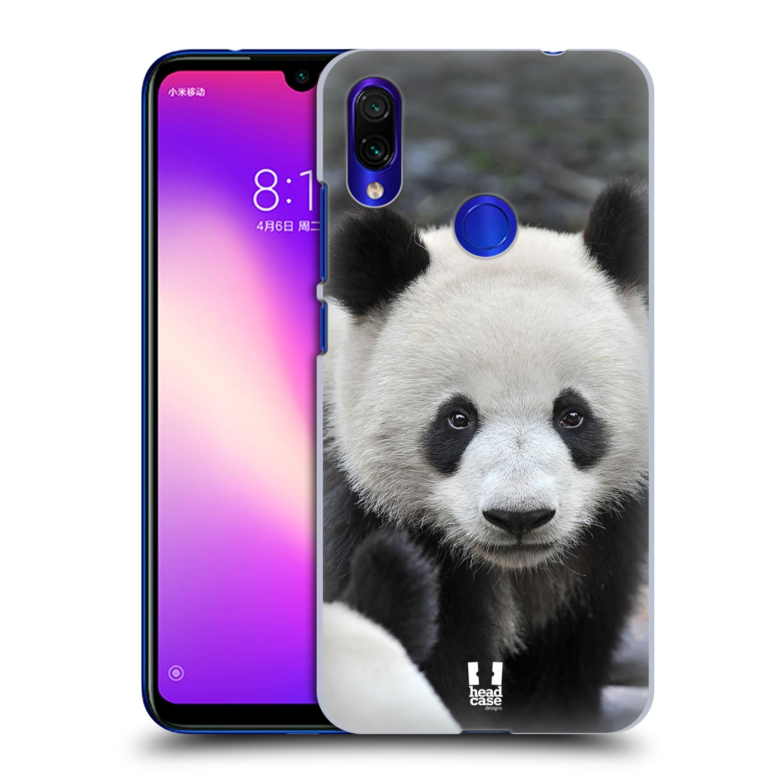 Plastové pouzdro na mobil Xiaomi Redmi Note 7 - Head Case - DIVOČINA – PANDA
