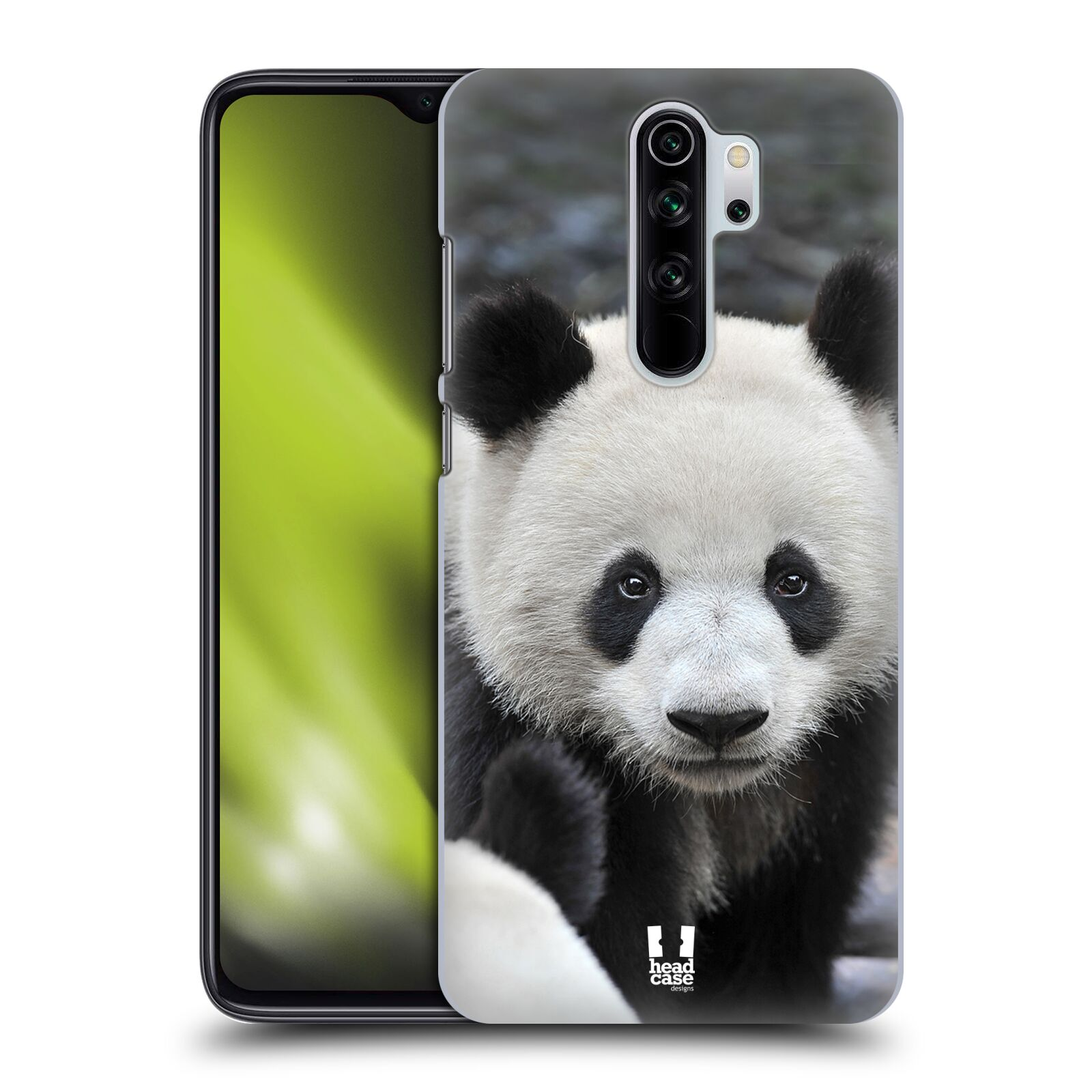 Plastové pouzdro na mobil Xiaomi Redmi Note 8 Pro - Head Case - DIVOČINA – PANDA