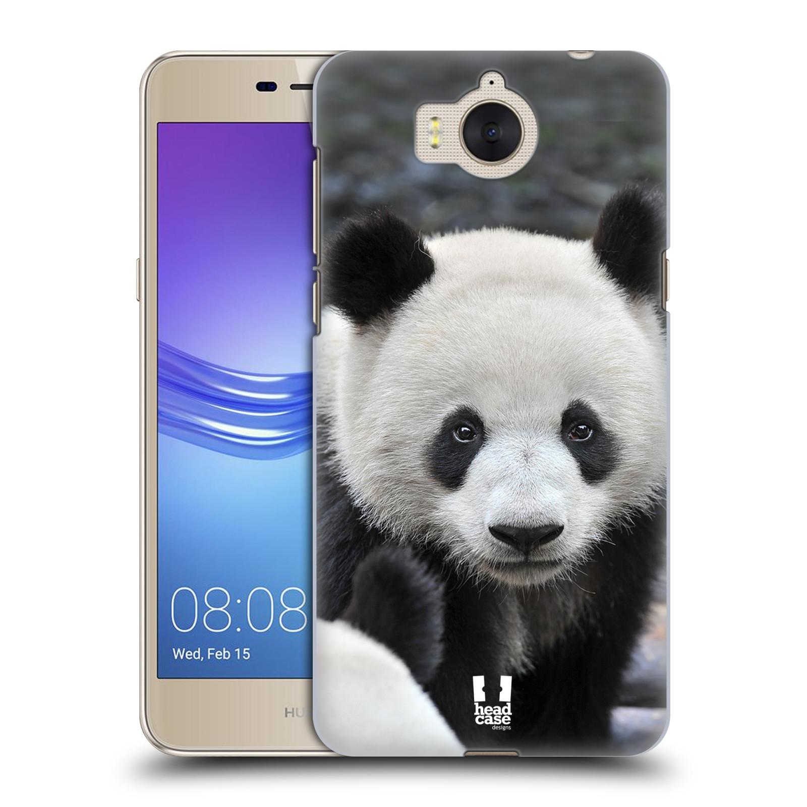 Plastové pouzdro na mobil Huawei Y6 2017 - Head Case - DIVOČINA – PANDA