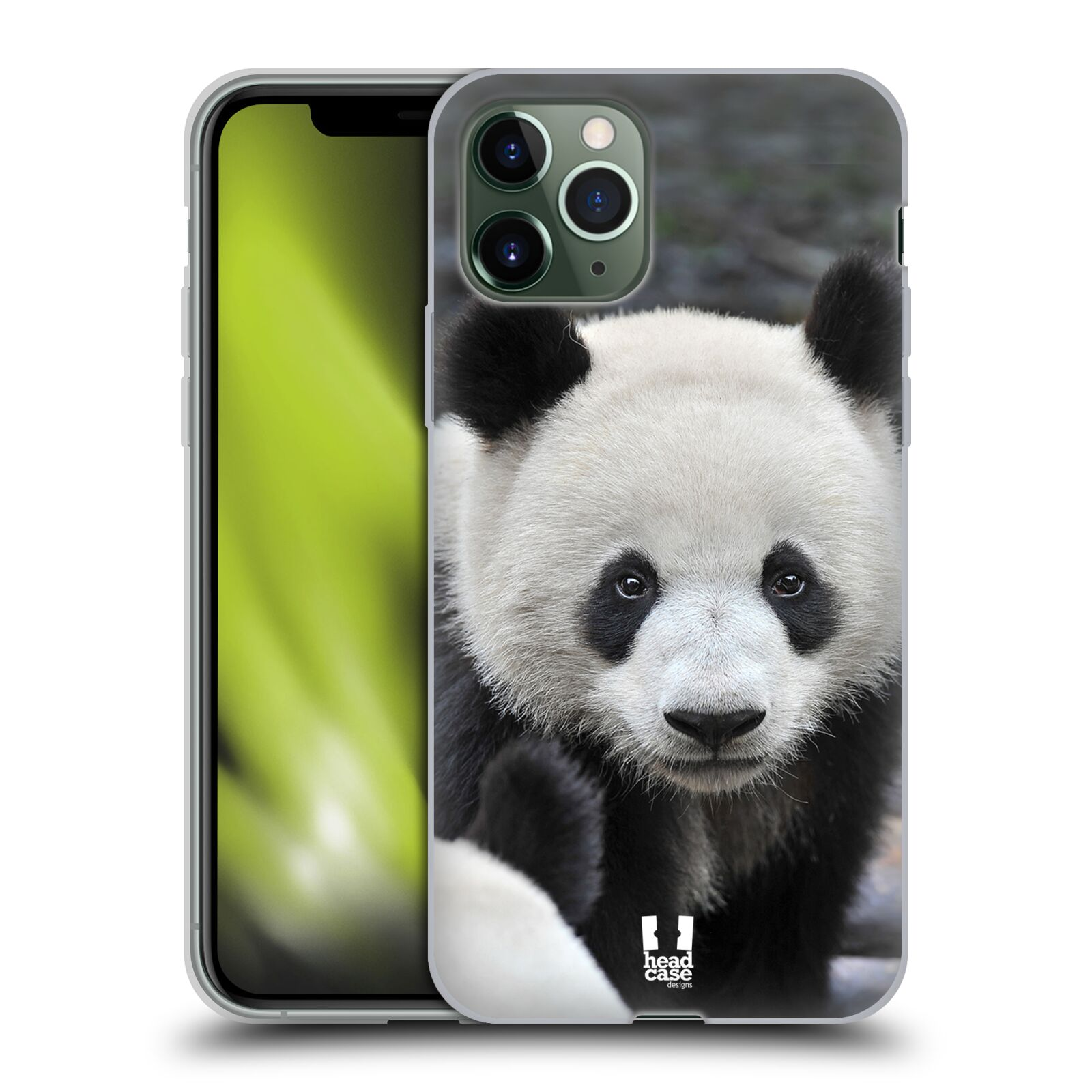 cover gucci iphone 8 fake | Silikonové pouzdro na mobil Apple iPhone 11 Pro - Head Case - DIVOČINA – PANDA