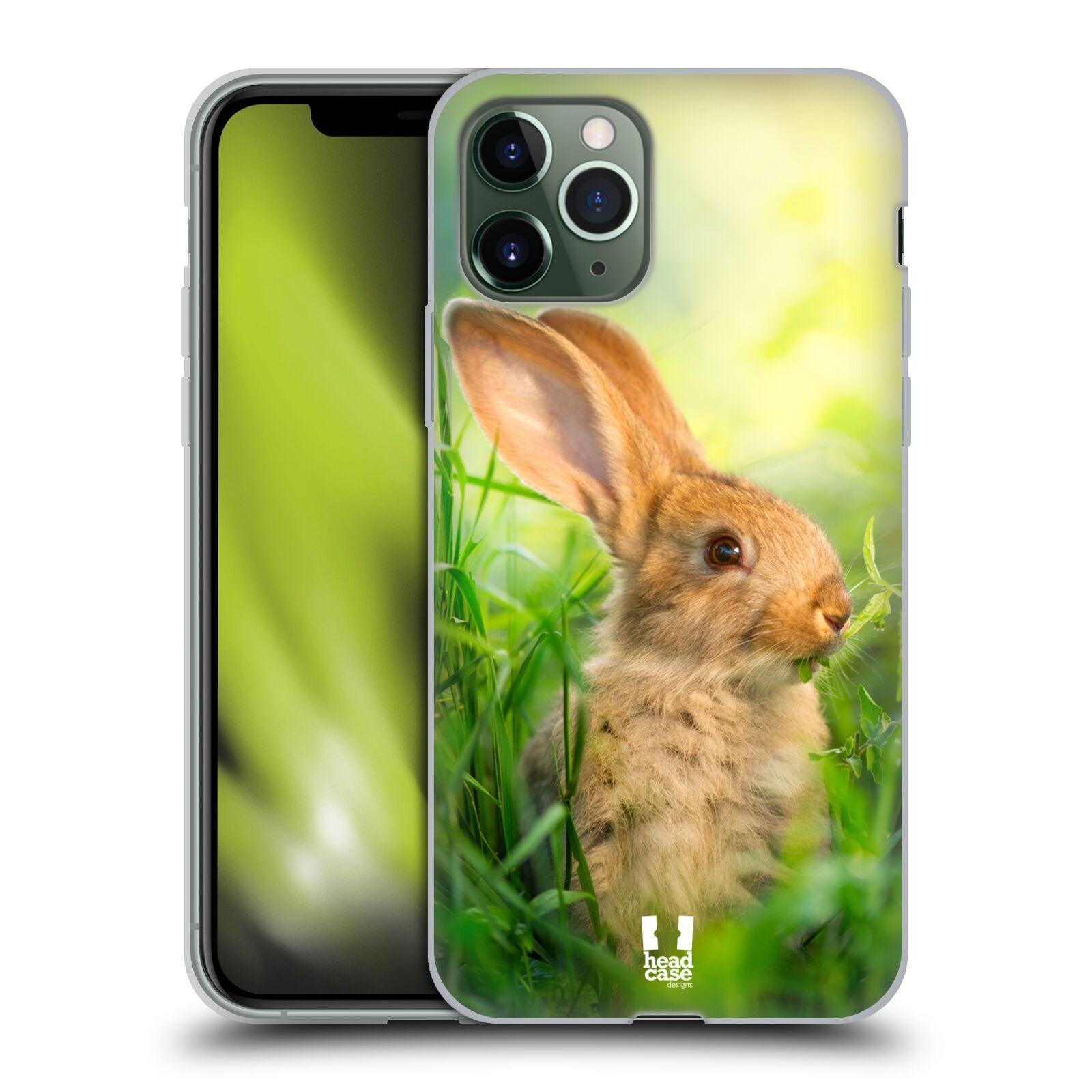 ebay krytu na iphone xs , Silikonové pouzdro na mobil Apple iPhone 11 Pro - Head Case - DIVOČINA – KRÁLÍČEK