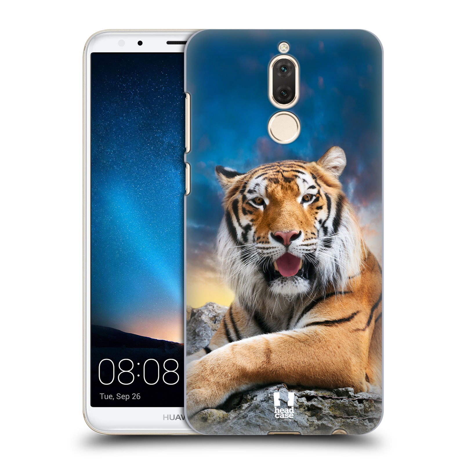 Plastové pouzdro na mobil Huawei Mate 10 Lite - Head Case - DIVOČINA – TYGR