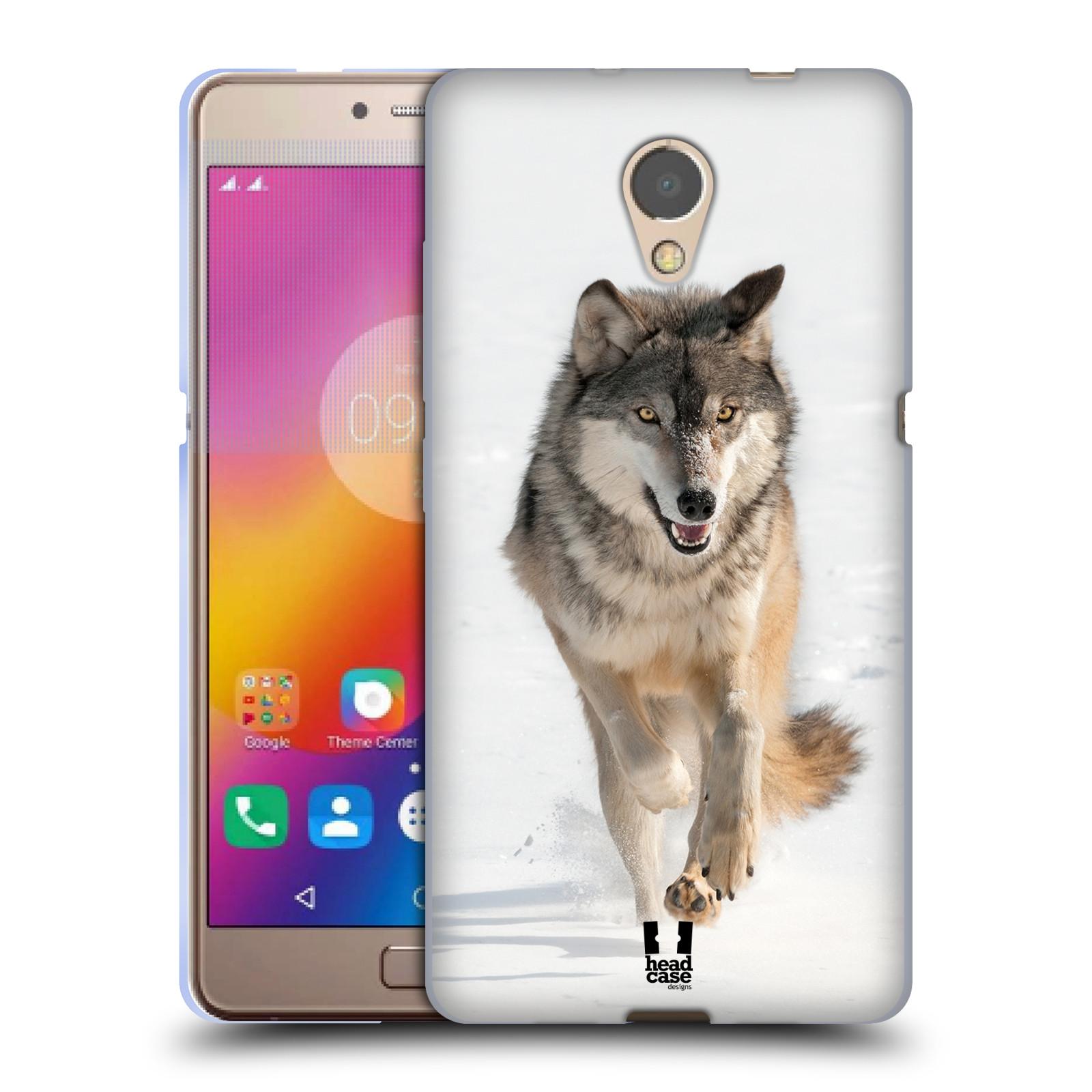 Silikonové pouzdro na mobil Lenovo P2 - Head Case - DIVOČINA – VLK (Silikonový kryt či obal na mobilní telefon Lenovo P2 Dual Sim s motivem DIVOČINA – VLK)