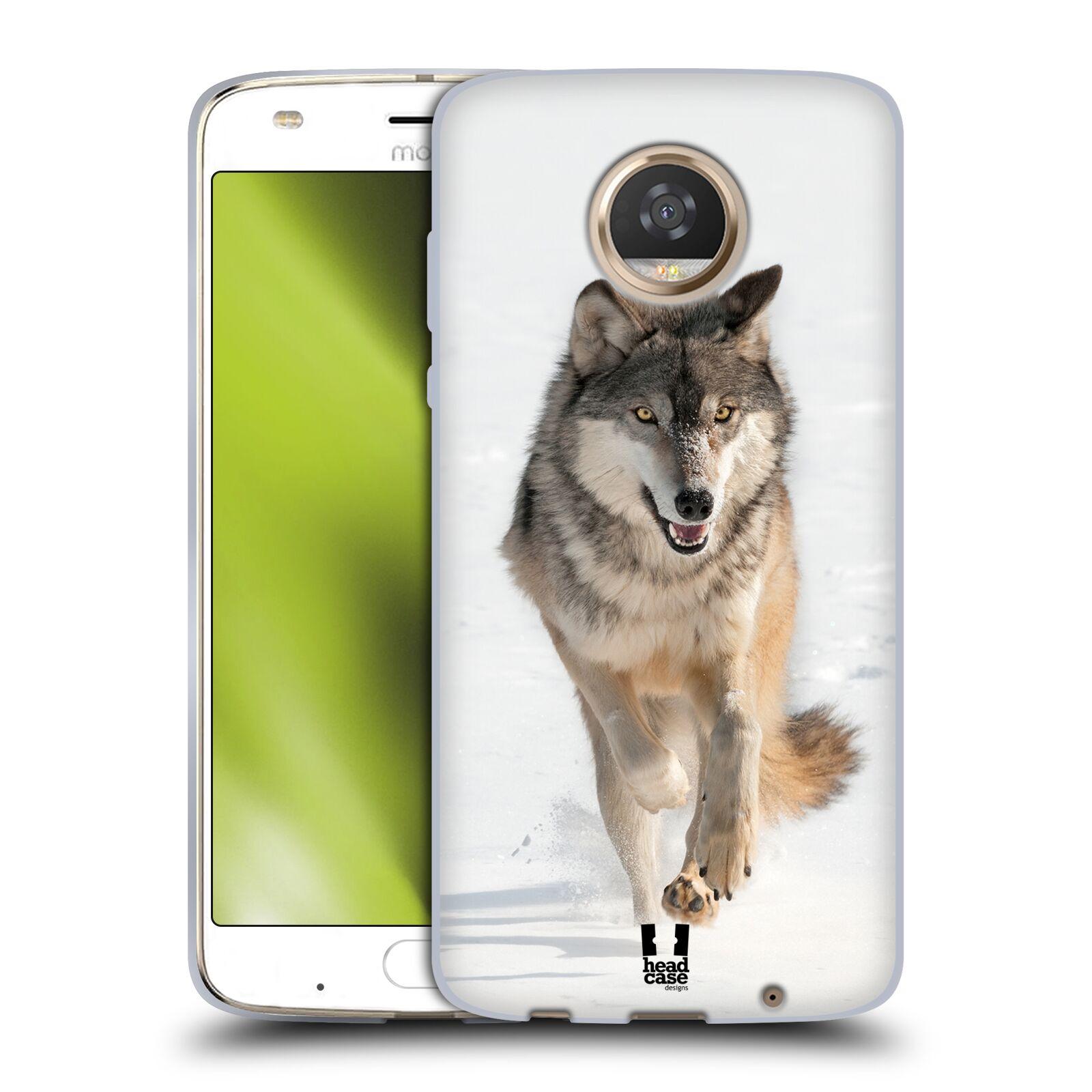 Silikonové pouzdro na mobil Lenovo Moto Z2 Play - Head Case - DIVOČINA – VLK (Silikonový kryt či obal na mobilní telefon Lenovo Moto Z2 Play s motivem DIVOČINA – VLK)