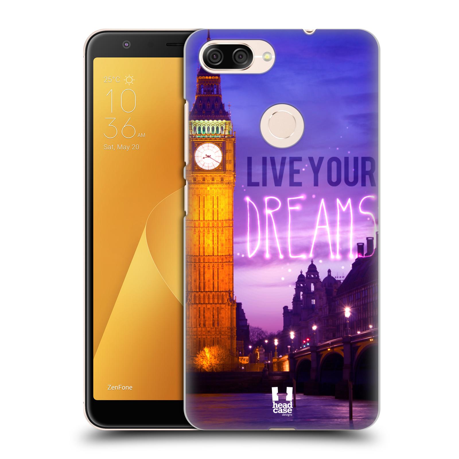 Plastové pouzdro na mobil Asus ZenFone Max Plus (M1) - Head Case - DREAMS (Plastový kryt či obal na mobilní telefon Asus ZenFone Max Plus M1 ZB570TL s motivem DREAMS)