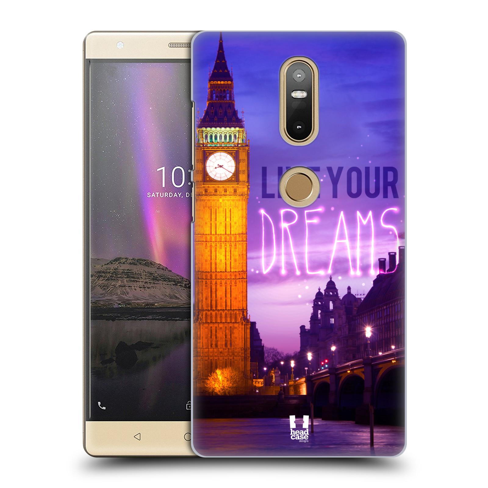 Plastové pouzdro na mobil Lenovo Phab 2 Plus - Head Case - DREAMS (Plastový kryt či obal na mobilní telefon Lenovo Phab 2 Plus Dual SIM s motivem DREAMS)