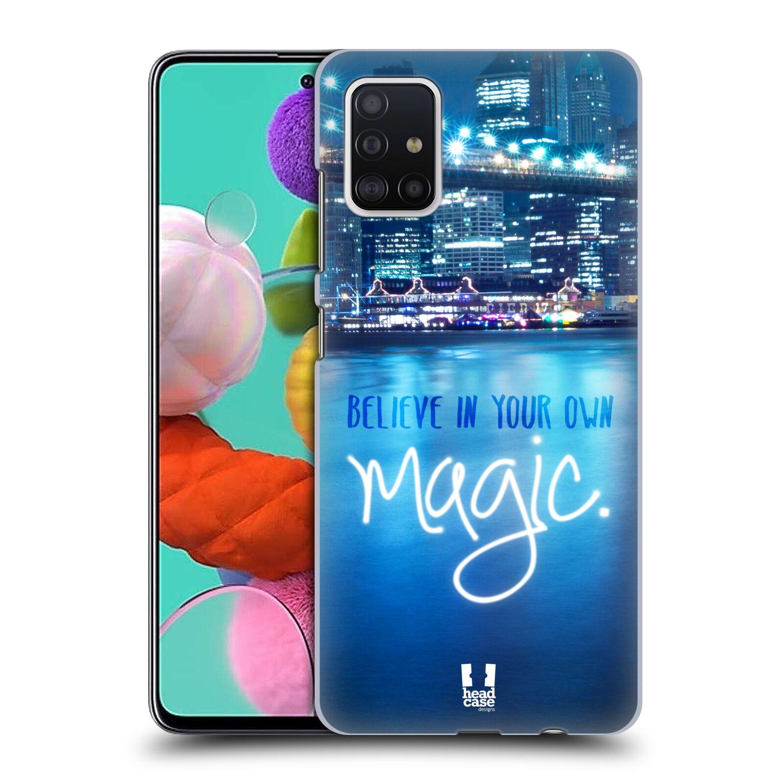 Plastové pouzdro na mobil Samsung Galaxy A51 - Head Case - MAGICAL