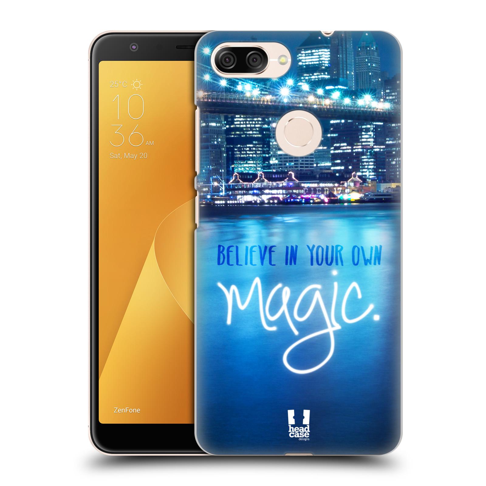 Plastové pouzdro na mobil Asus ZenFone Max Plus (M1) - Head Case - MAGICAL (Plastový kryt či obal na mobilní telefon Asus ZenFone Max Plus M1 ZB570TL s motivem MAGICAL)
