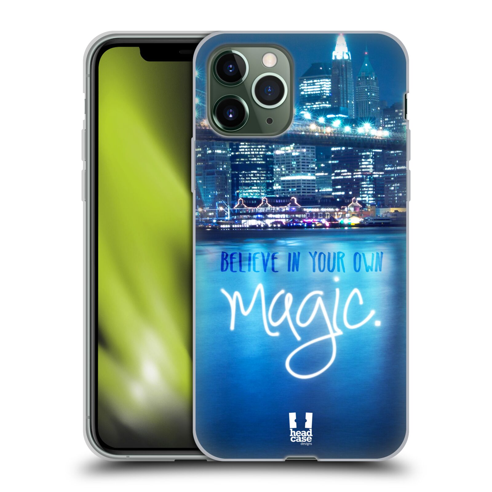 obal iphone 7 apple | Silikonové pouzdro na mobil Apple iPhone 11 Pro - Head Case - MAGICAL