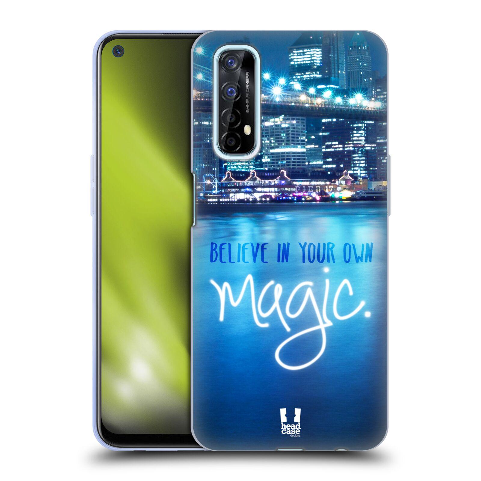 Silikonové pouzdro na mobil Realme 7 - Head Case - MAGICAL