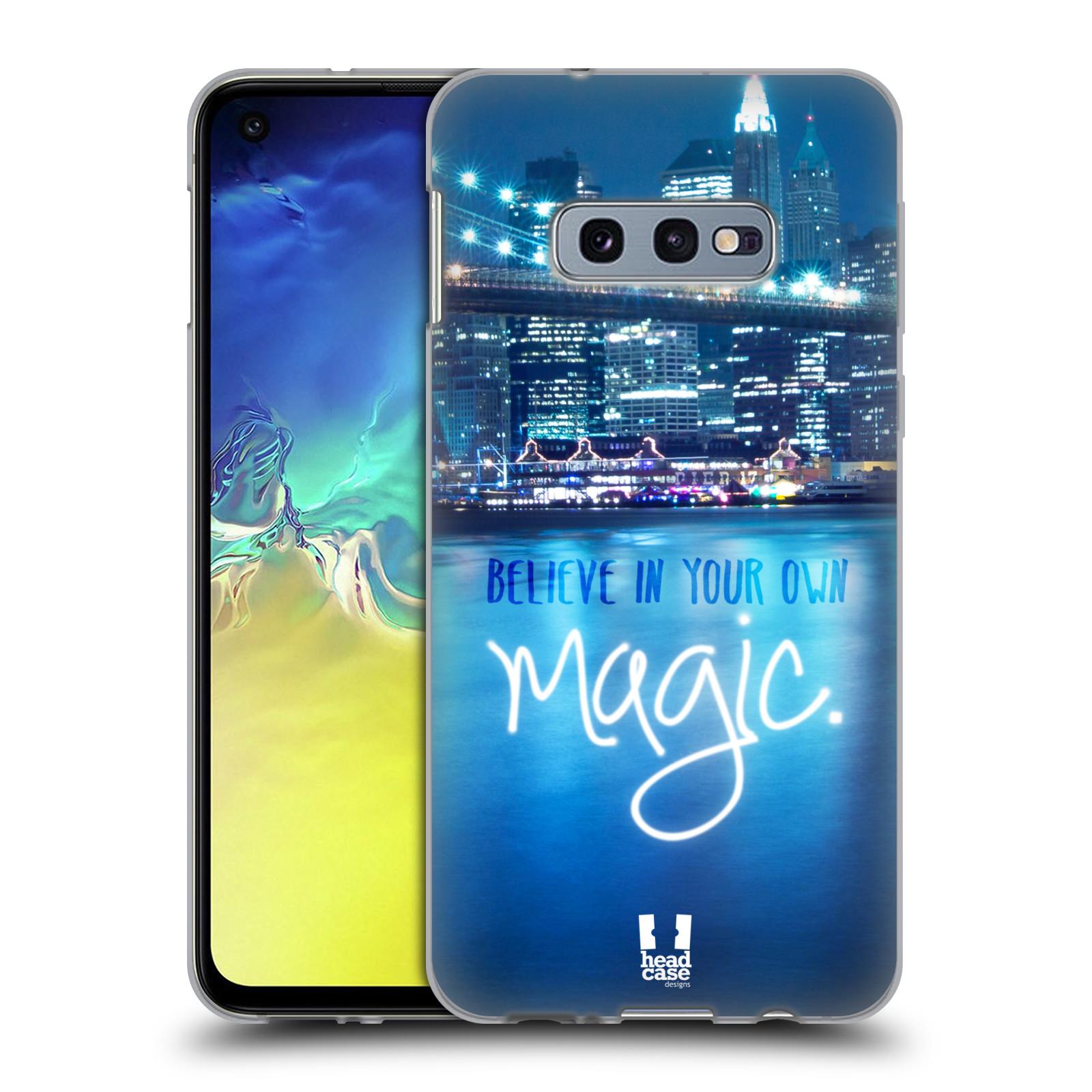 Silikonové pouzdro na mobil Samsung Galaxy S10e - Head Case - MAGICAL