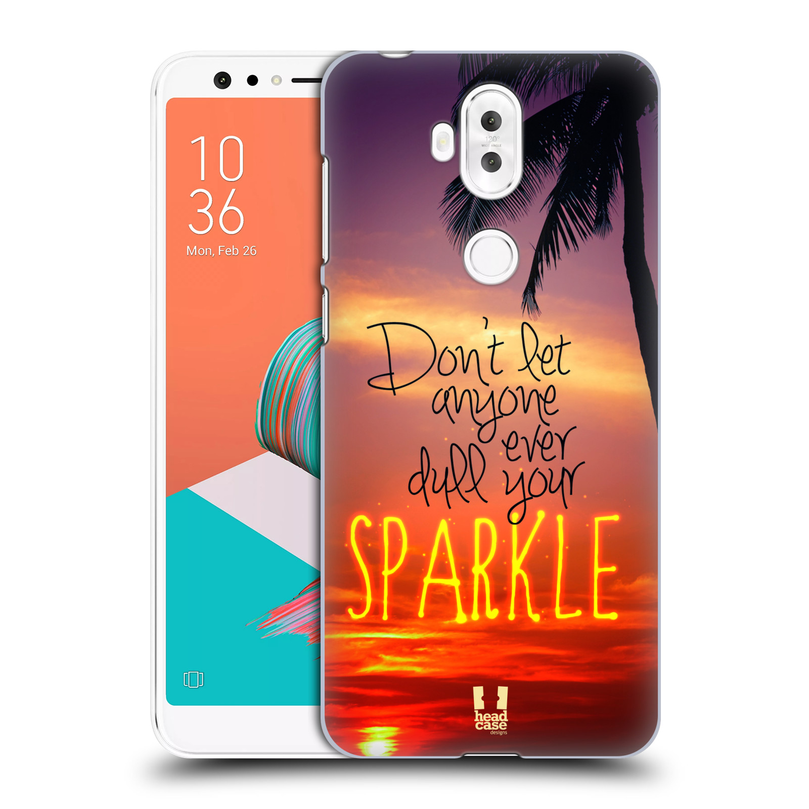 Plastové pouzdro na mobil Asus ZenFone 5 Lite ZC600KL - Head Case - SPARKLE (Plastový kryt či obal na mobilní telefon Asus ZenFone 5 Lite (ZC600KL) s motivem SPARKLE)