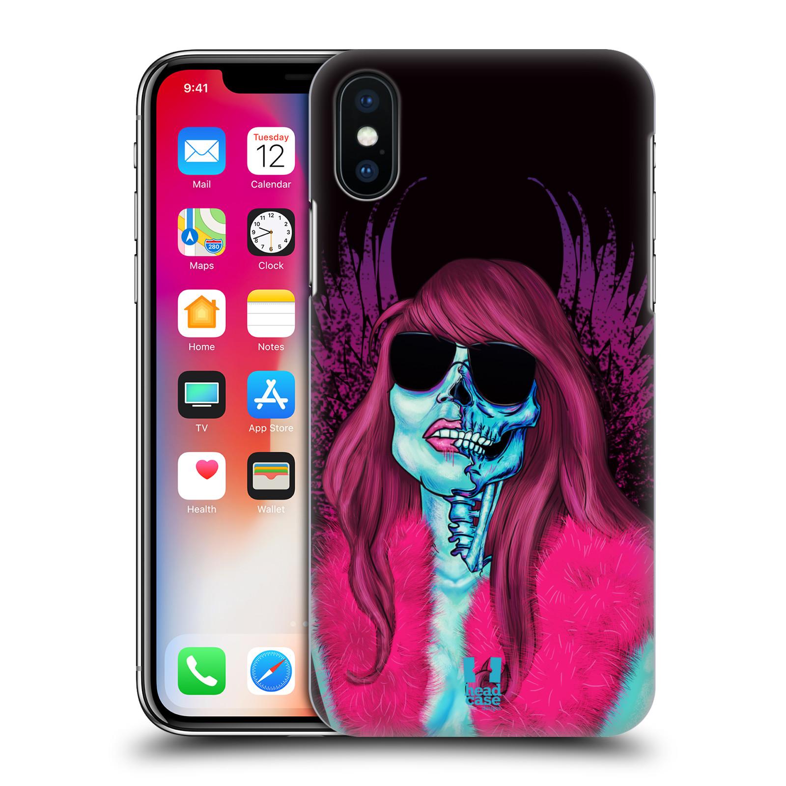Plastové pouzdro na mobil Apple iPhone X - Head Case - LEBKA GROUPIE