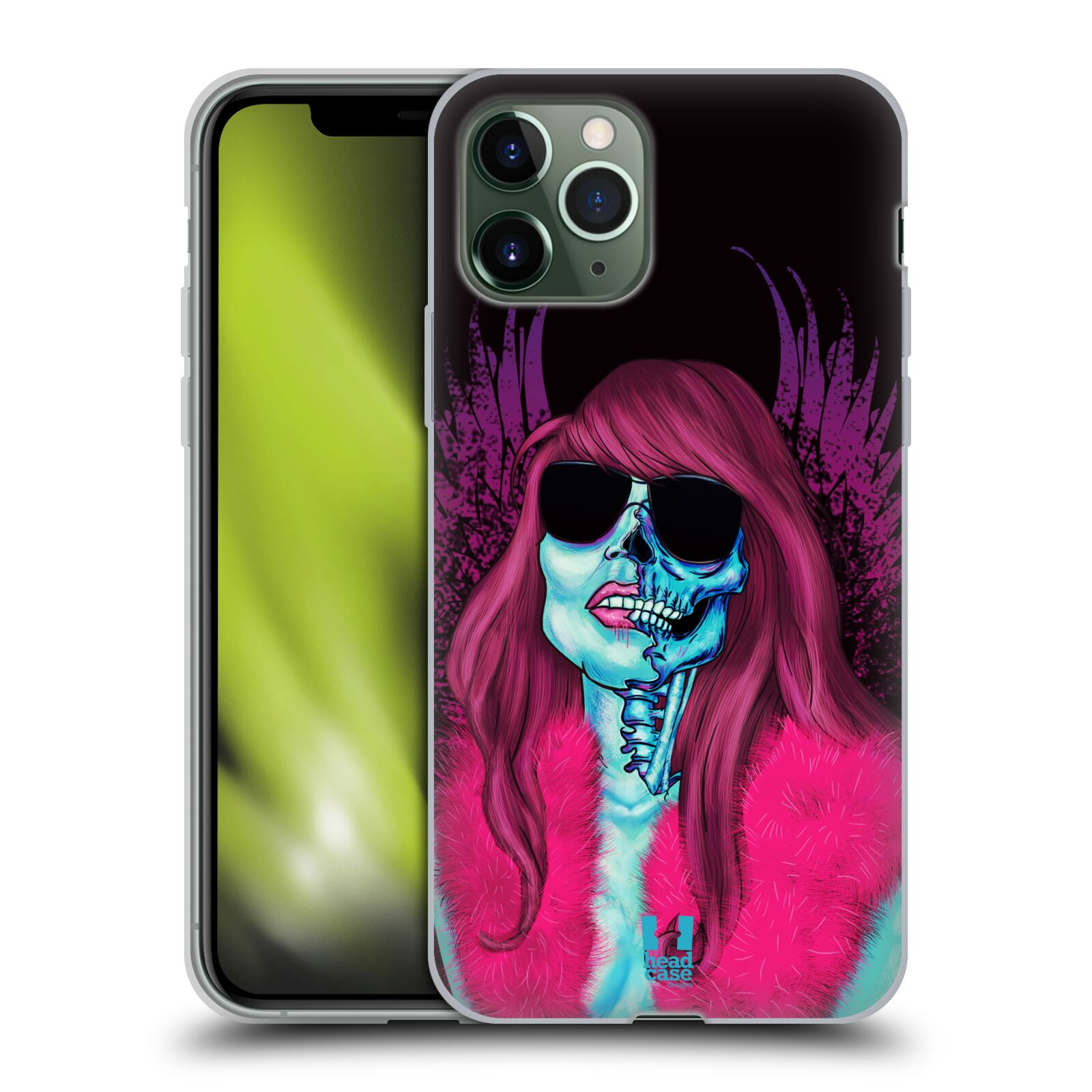 obal apple iphone 7 - Silikonové pouzdro na mobil Apple iPhone 11 Pro - Head Case - LEBKA GROUPIE