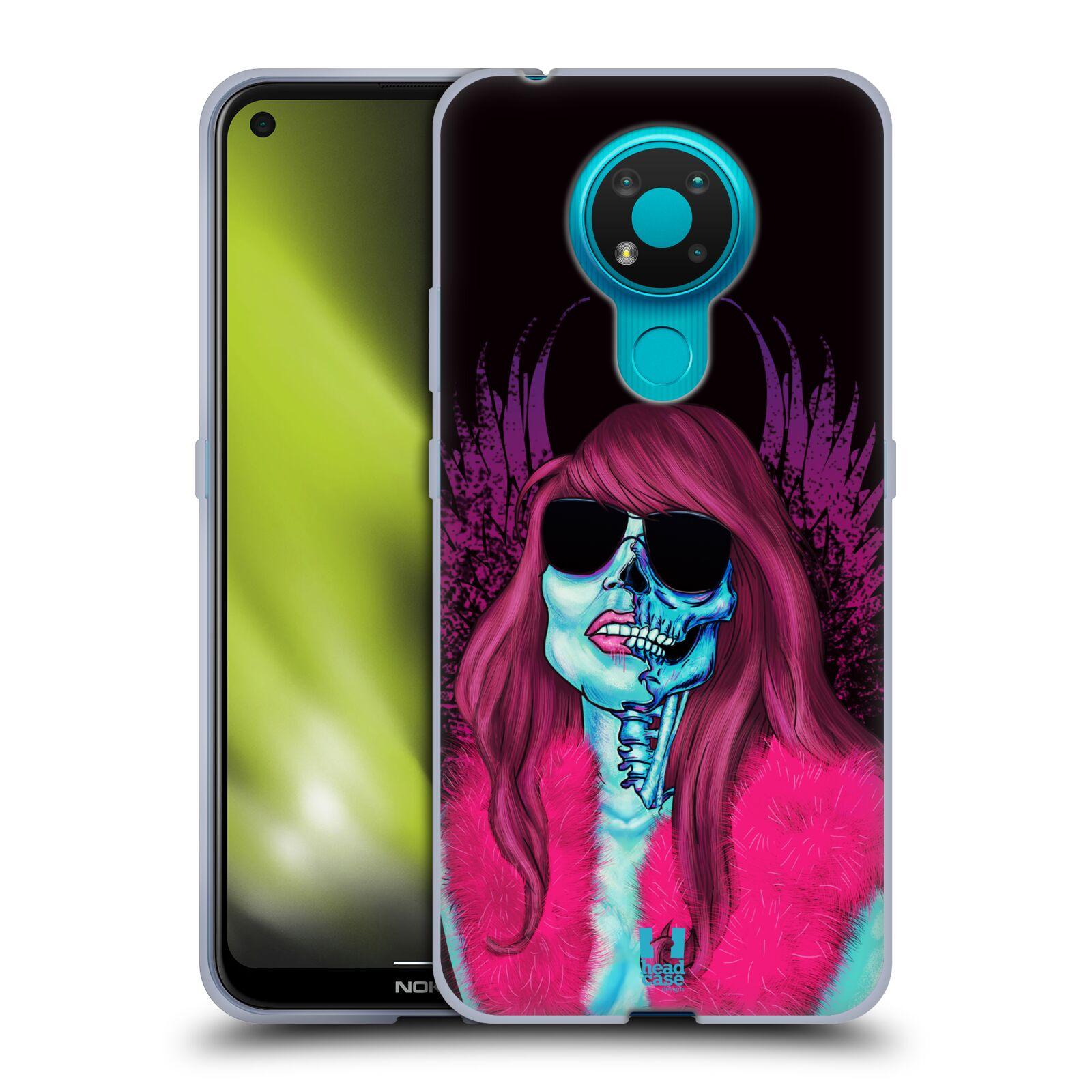Silikonové pouzdro na mobil Nokia 3.4 - Head Case - LEBKA GROUPIE