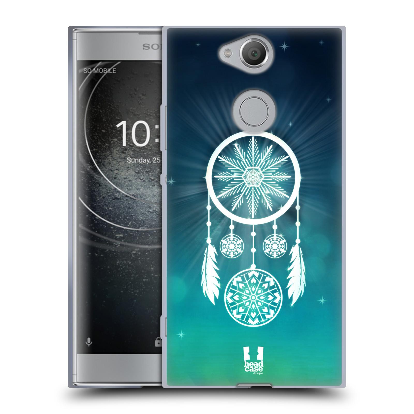 Silikonové pouzdro na mobil Sony Xperia XA2 - Head Case - Lapač vločky