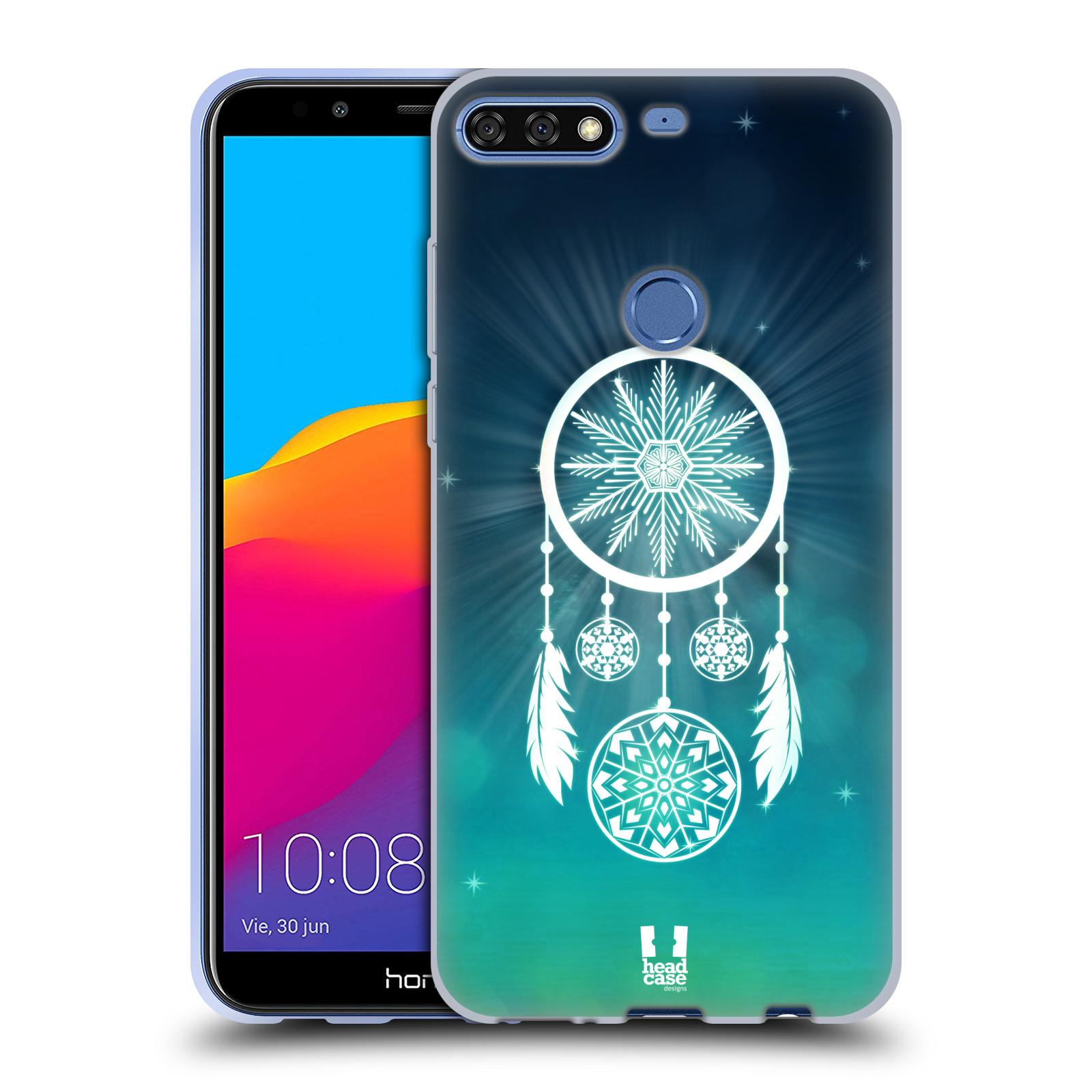 Silikonové pouzdro na mobil Huawei Y7 Prime (2018) - Head Case - Lapač vločky
