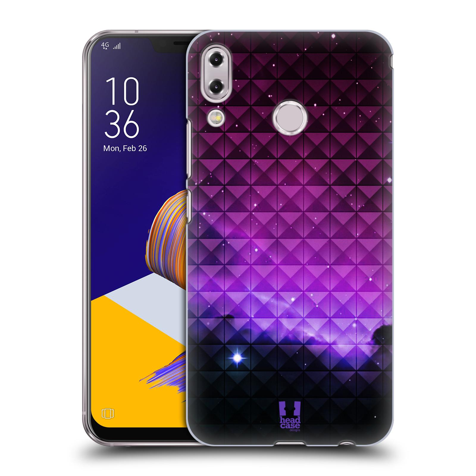 Plastové pouzdro na mobil Asus Zenfone 5z ZS620KL - Head Case - PURPLE HAZE (Plastový kryt či obal na mobilní telefon Asus Zenfone 5z (ZS620KL) s motivem PURPLE HAZE)