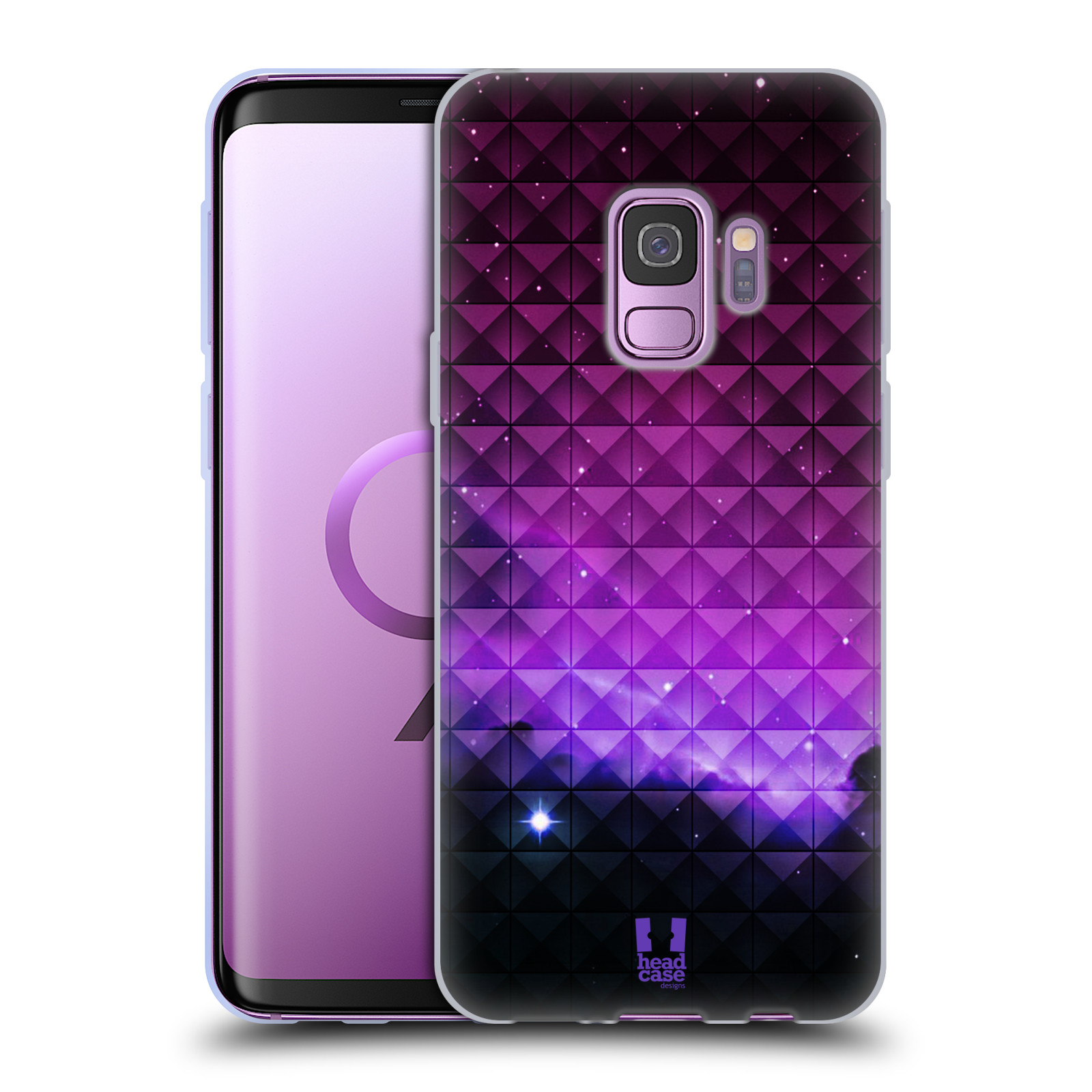 Silikonové pouzdro na mobil Samsung Galaxy S9 - Head Case - PURPLE HAZE
