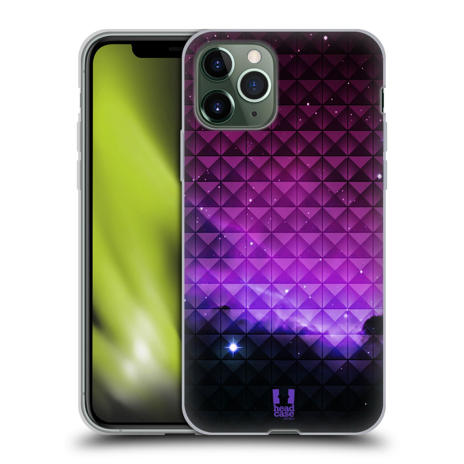 iphone 10 obal , Silikonové pouzdro na mobil Apple iPhone 11 Pro - Head Case - PURPLE HAZE