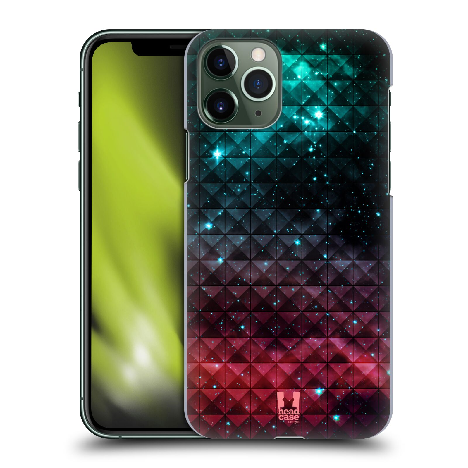 gucci iphone 8 flip case - Plastové pouzdro na mobil Apple iPhone 11 Pro - Head Case - OMBRE SPARKLE