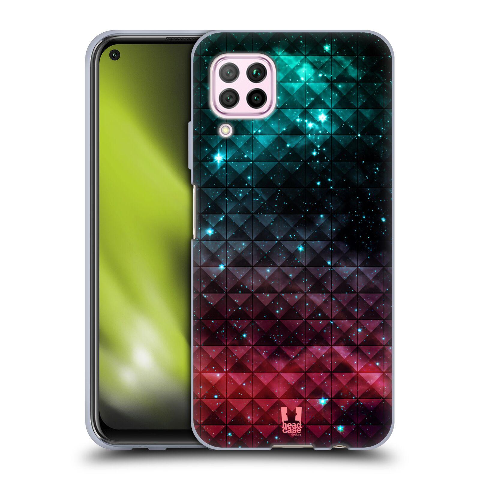 Silikonové pouzdro na mobil Huawei P40 Lite - Head Case - OMBRE SPARKLE