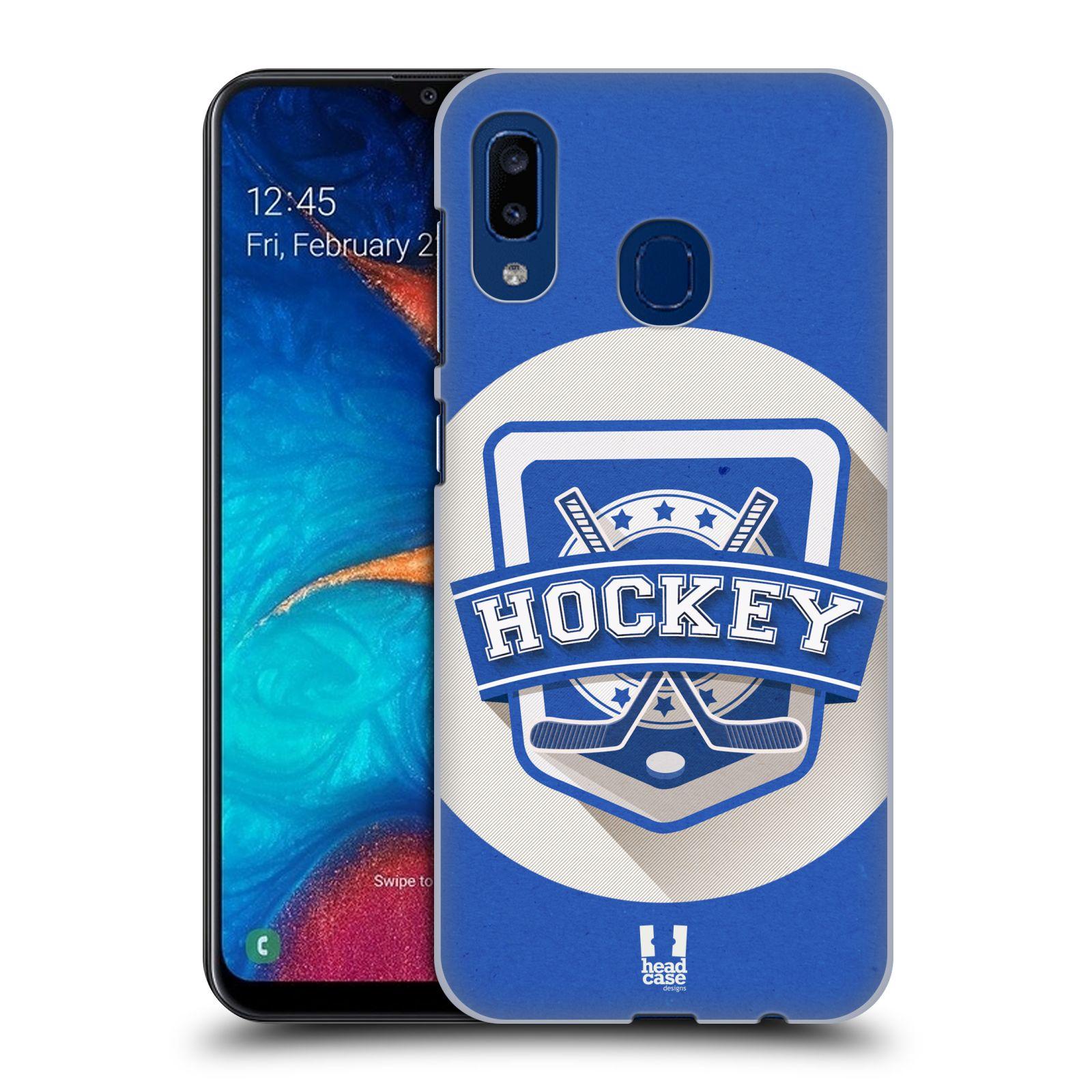 Plastové pouzdro na mobil Samsung Galaxy A20 - Head Case - HOKEJ