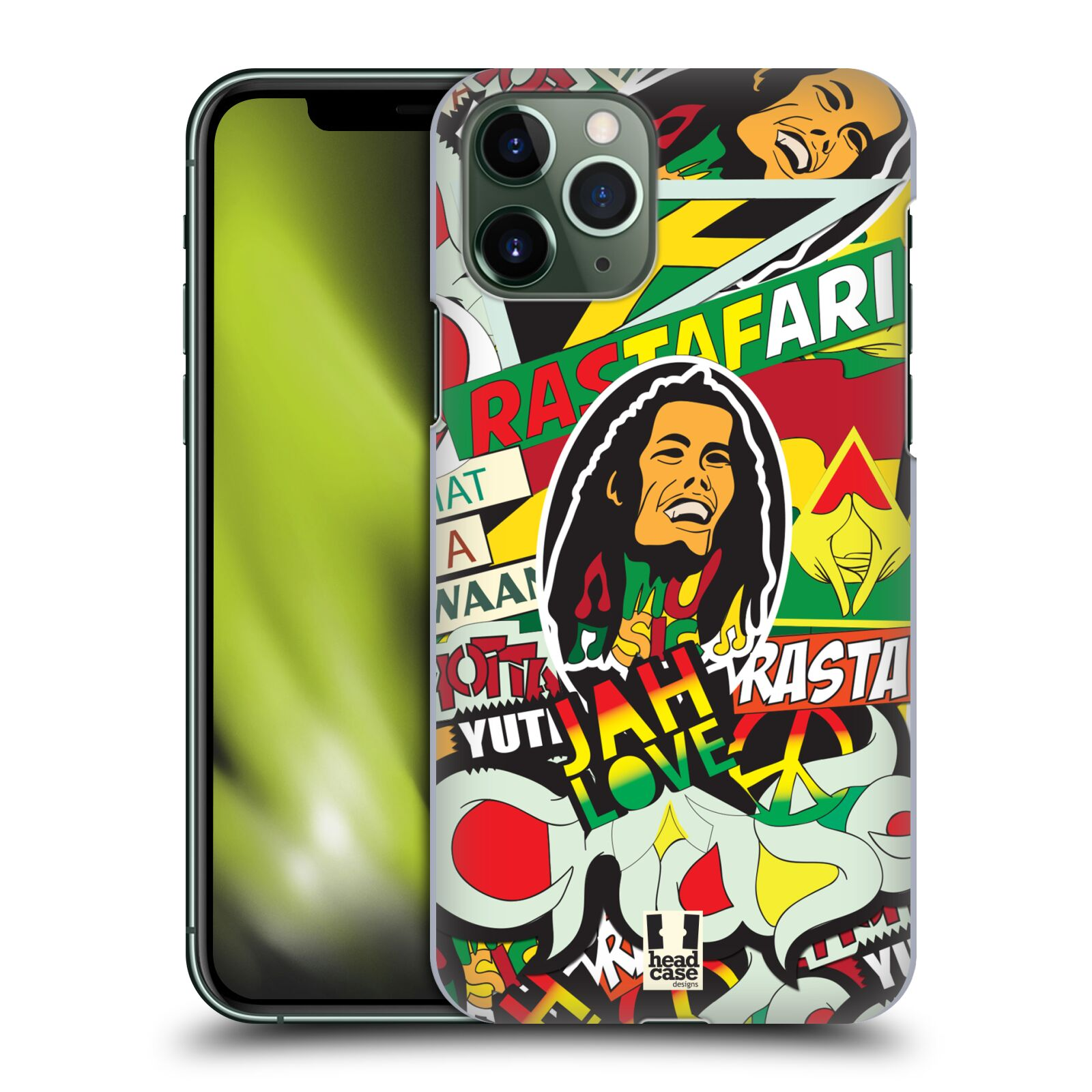 gucci iphone x s case | Plastové pouzdro na mobil Apple iPhone 11 Pro - Head Case - RASTA