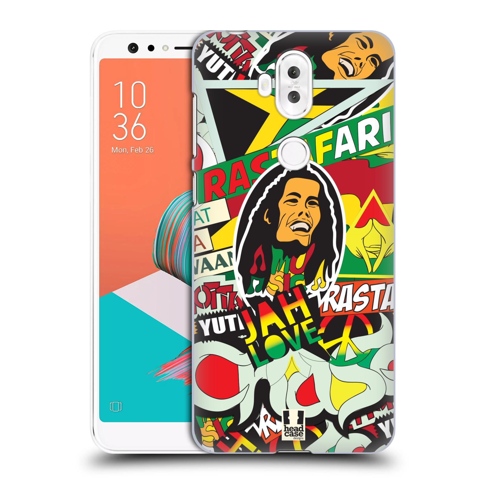 Plastové pouzdro na mobil Asus ZenFone 5 Lite ZC600KL - Head Case - RASTA (Plastový kryt či obal na mobilní telefon Asus ZenFone 5 Lite (ZC600KL) s motivem RASTA )