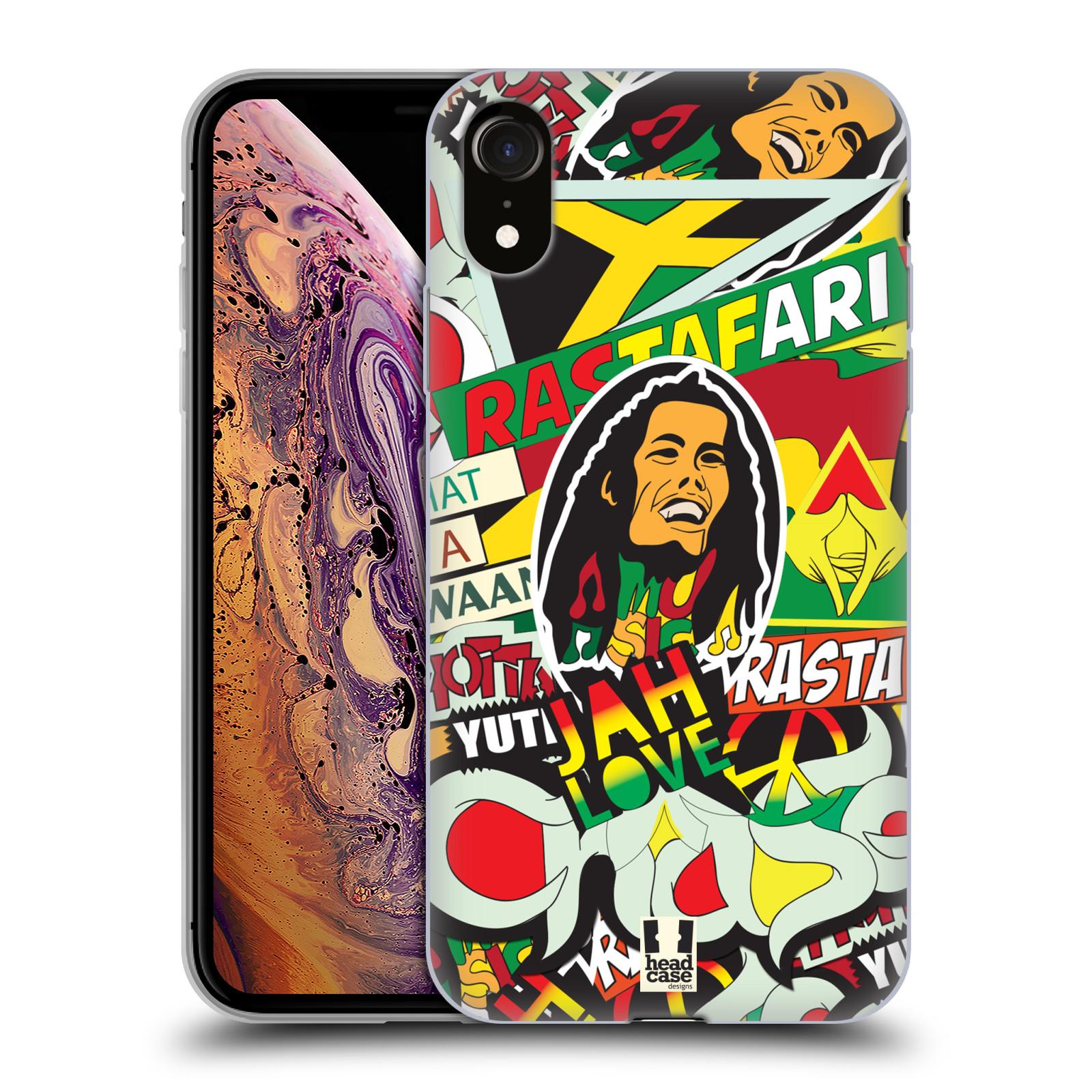Silikonové pouzdro na mobil Apple iPhone XR - Head Case - RASTA