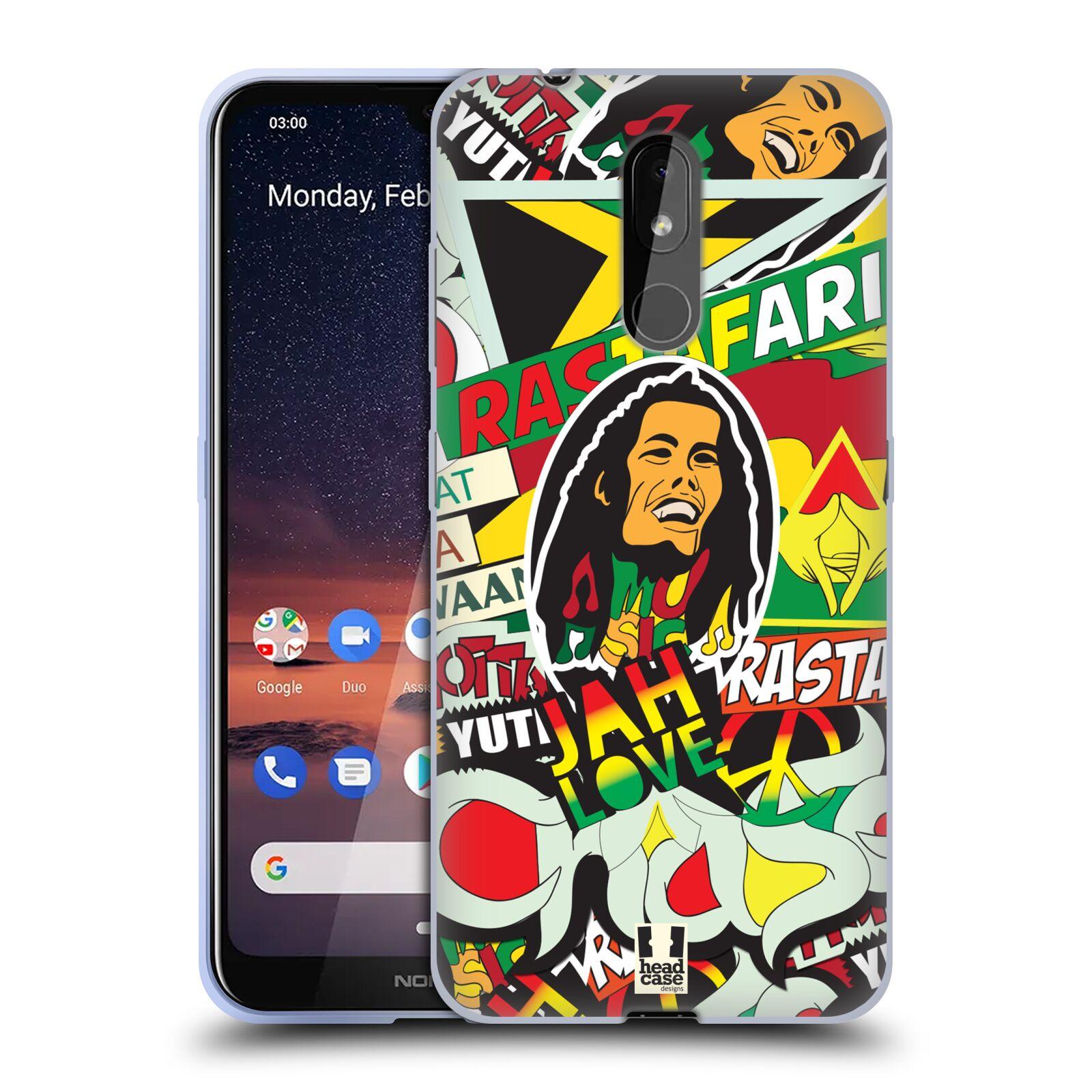 Silikonové pouzdro na mobil Nokia 3.2 - Head Case - RASTA