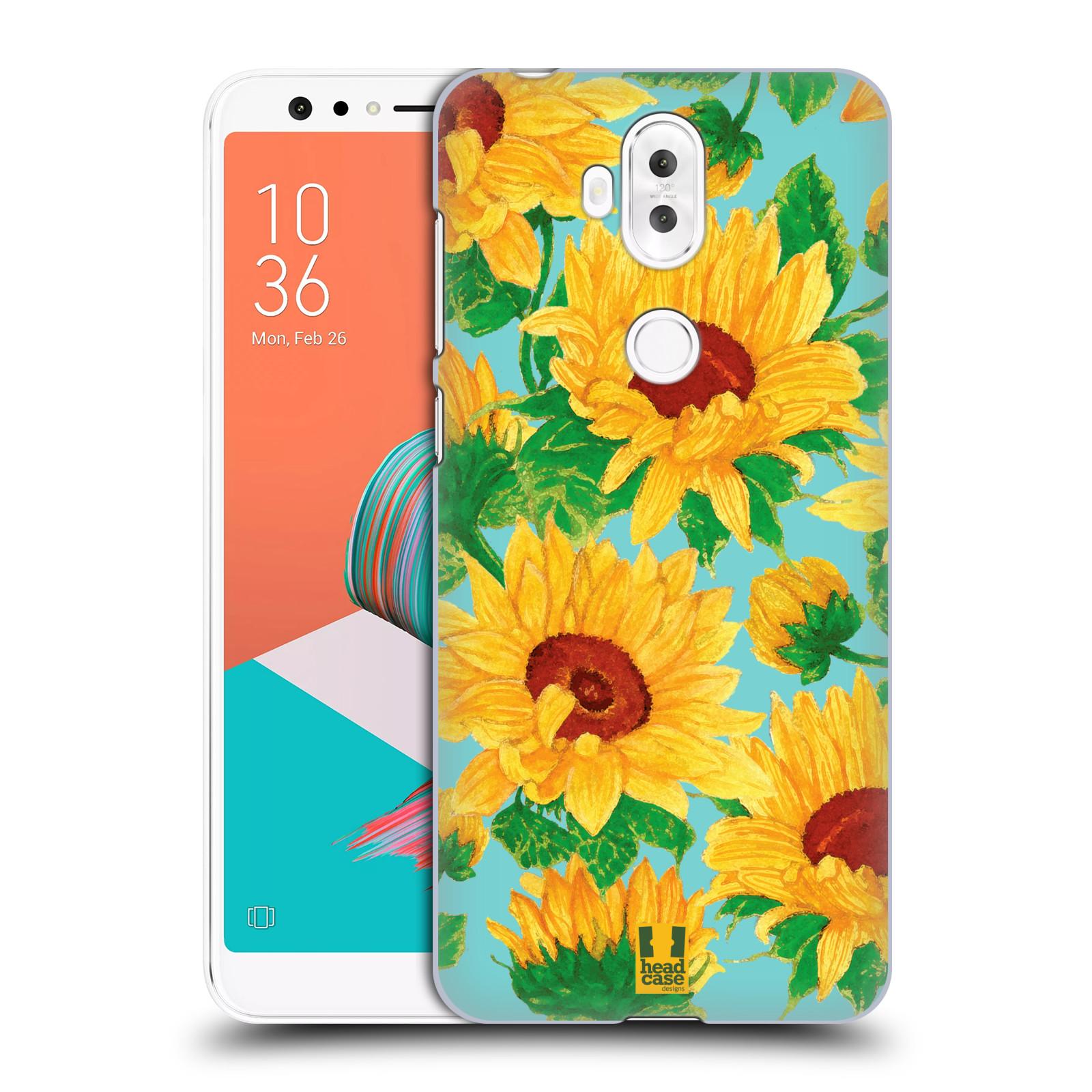 Plastové pouzdro na mobil Asus ZenFone 5 Lite ZC600KL - Head Case - Slunečnice (Plastový kryt či obal na mobilní telefon Asus ZenFone 5 Lite (ZC600KL) s motivem Slunečnice)