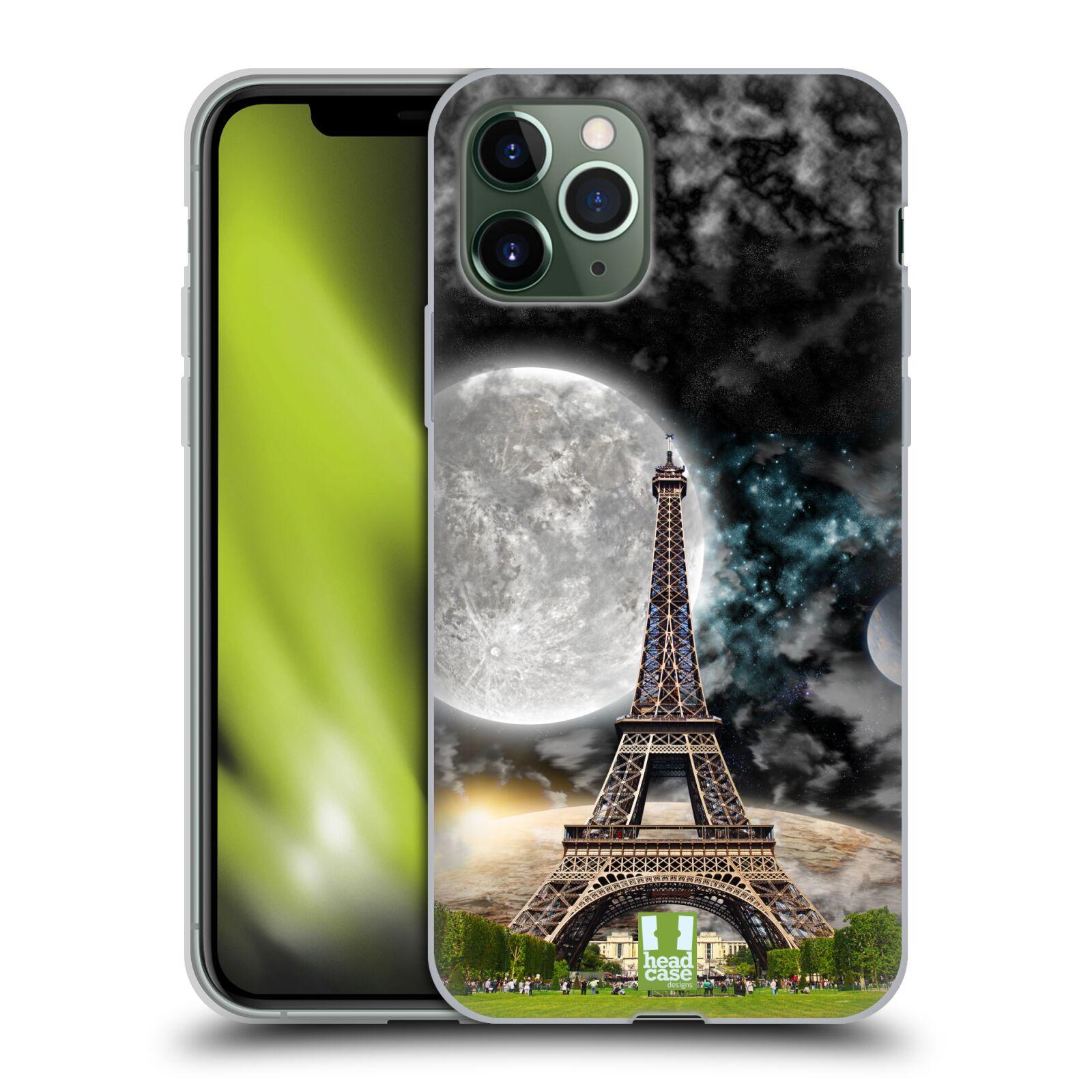 nejlevnější obaly iphone xr | Silikonové pouzdro na mobil Apple iPhone 11 Pro - Head Case - Měsíční aifelovka