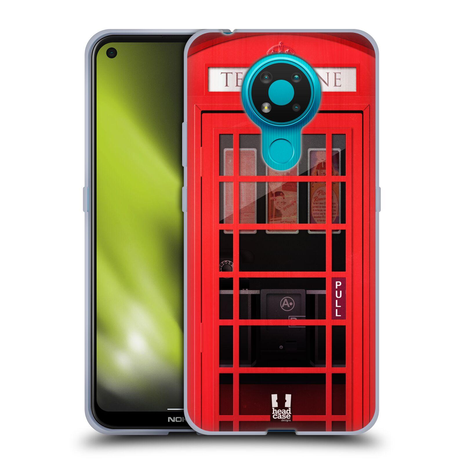 Silikonové pouzdro na mobil Nokia 3.4 - Head Case - TELEFONNÍ BUDKA