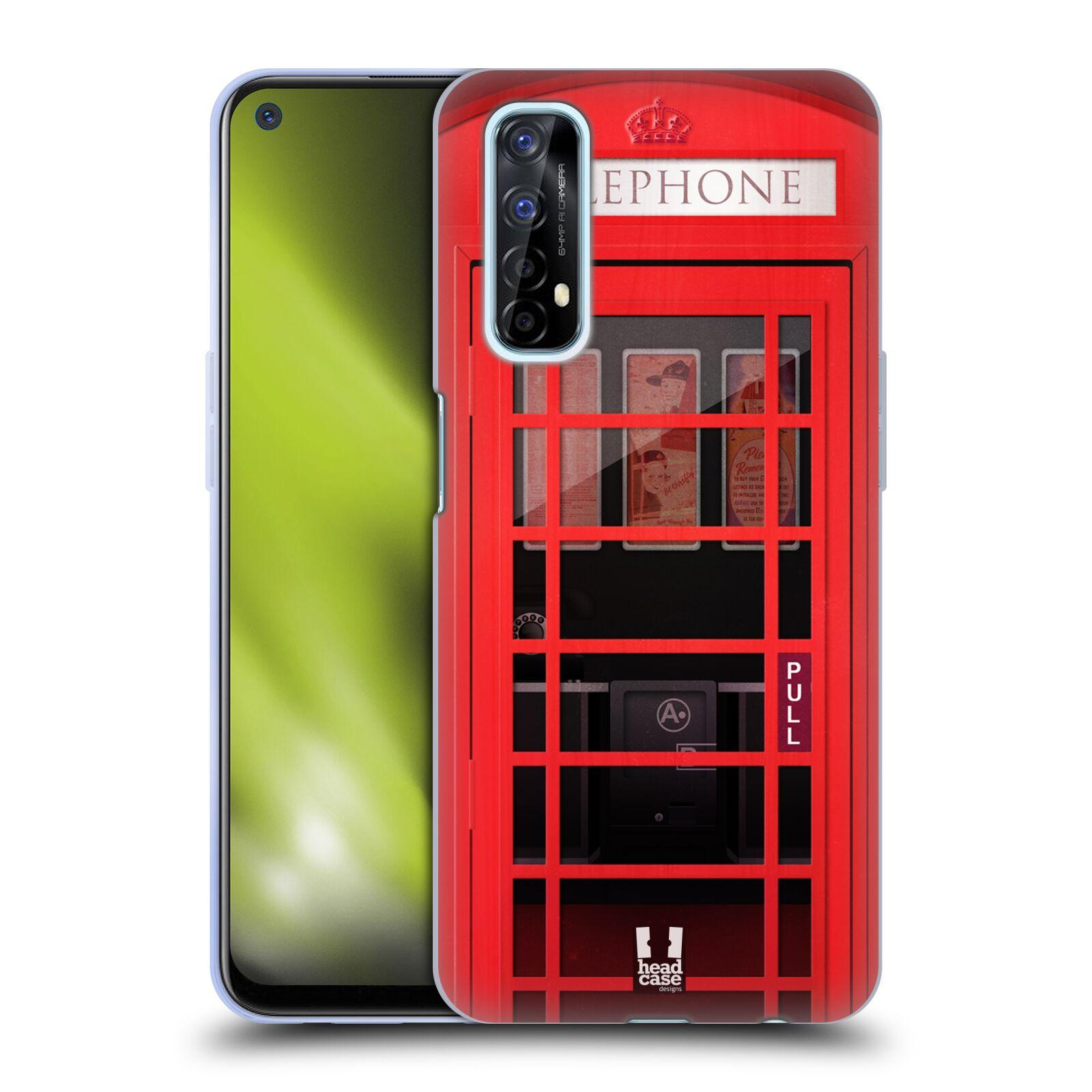Silikonové pouzdro na mobil Realme 7 - Head Case - TELEFONNÍ BUDKA