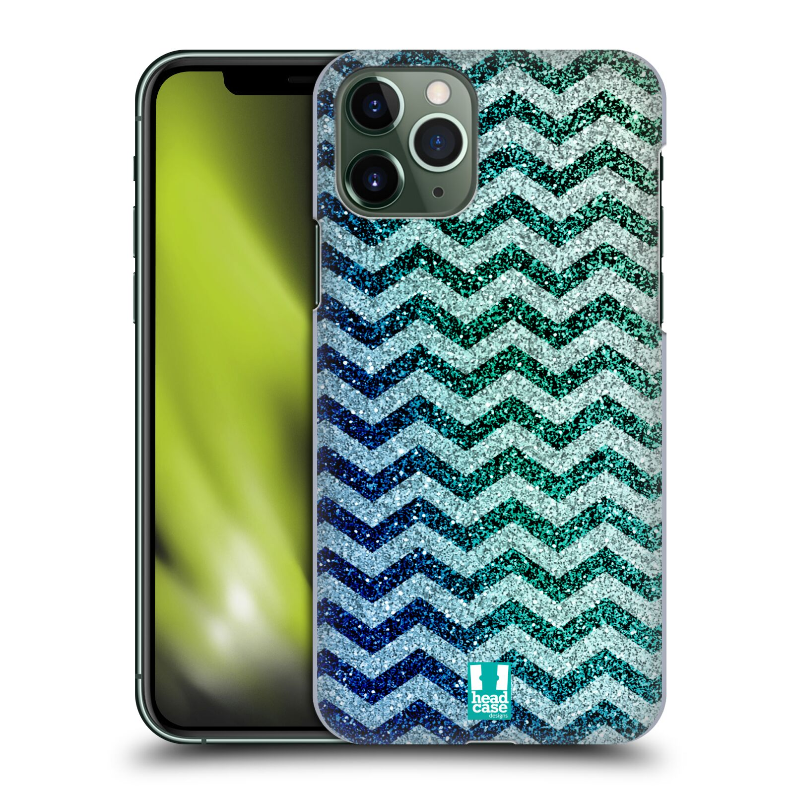 iphone x kryt apple , Plastové pouzdro na mobil Apple iPhone 11 Pro - Head Case - MIX CHEVRON