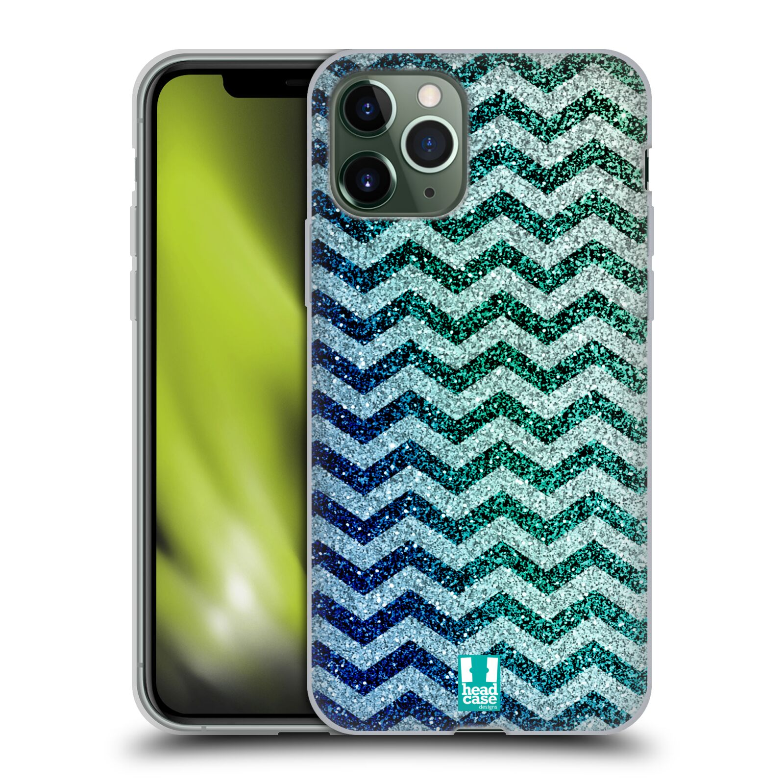 iphone obal na krk - Silikonové pouzdro na mobil Apple iPhone 11 Pro - Head Case - MIX CHEVRON