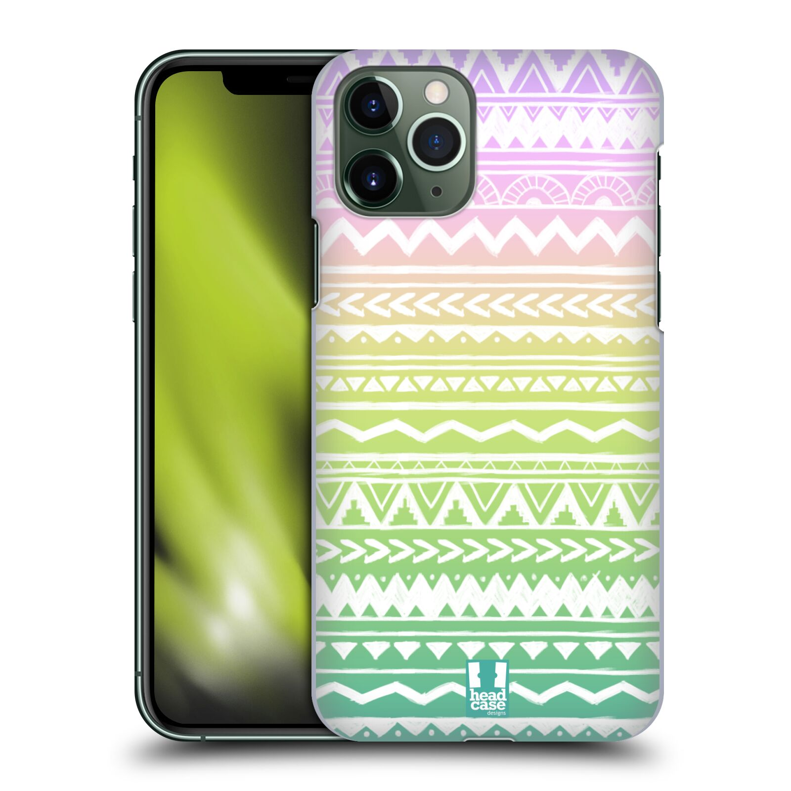 kryt na iphone 11 karl lagerfeld | Plastové pouzdro na mobil Apple iPhone 11 Pro - Head Case - MIX AZTEC DRAWN