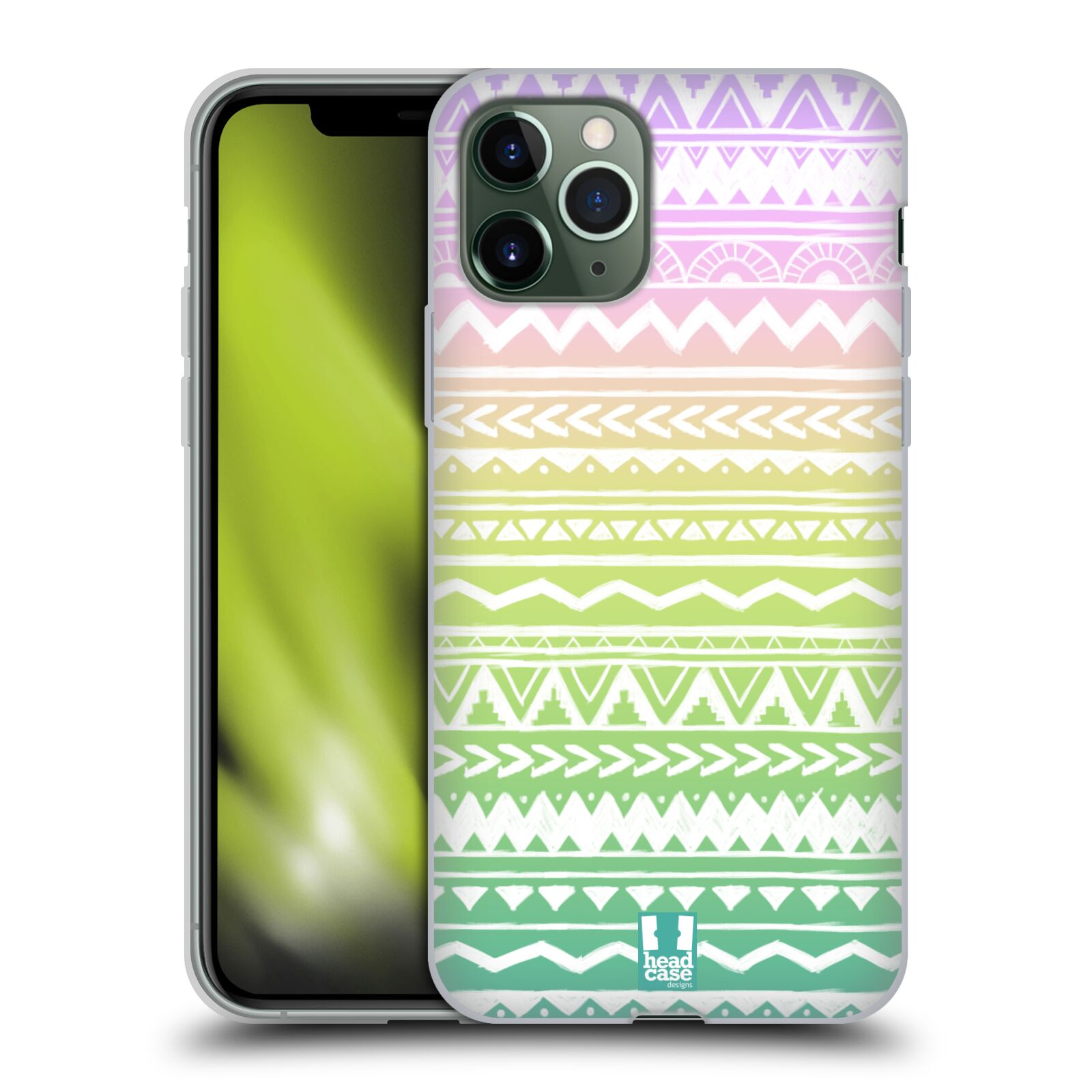 bazar krytu na iphone 6s plus - Silikonové pouzdro na mobil Apple iPhone 11 Pro - Head Case - MIX AZTEC DRAWN