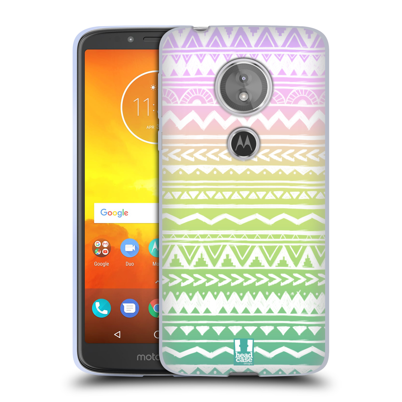 Silikonové pouzdro na mobil Motorola Moto E5 - Head Case - MIX AZTEC DRAWN