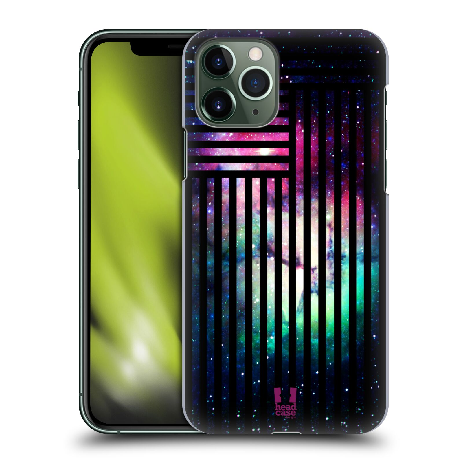 iphone 6s 360 kryt - Plastové pouzdro na mobil Apple iPhone 11 Pro - Head Case - MIX NEBULA STRIPES