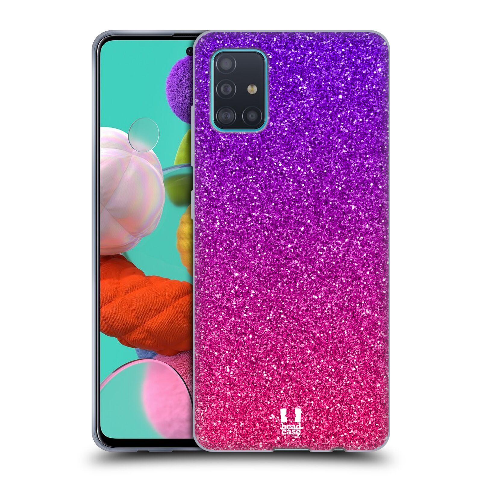 Silikonové pouzdro na mobil Samsung Galaxy A51 - Head Case - Mix Pink