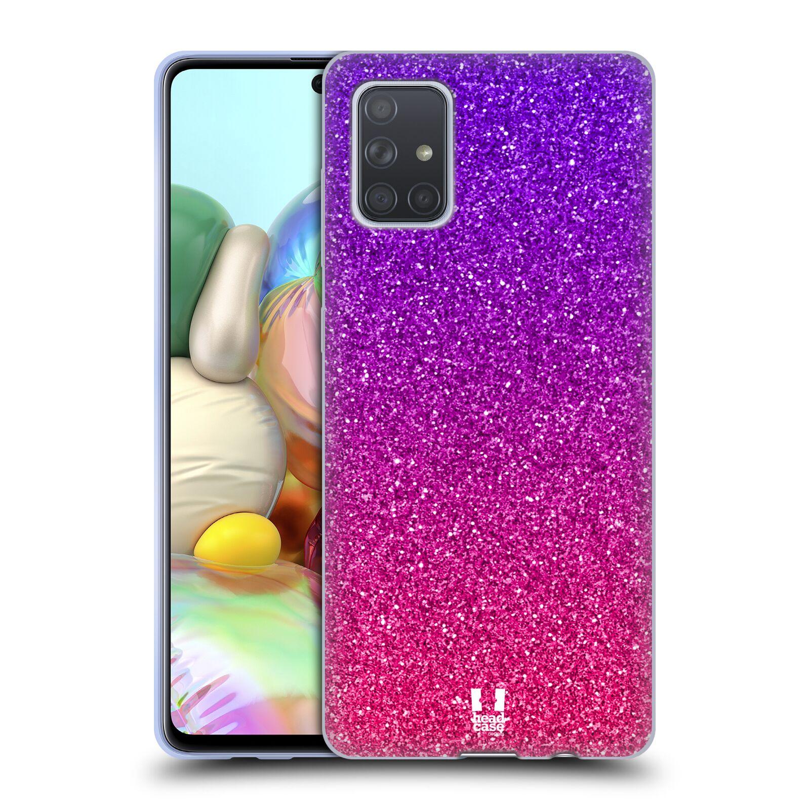 Silikonové pouzdro na mobil Samsung Galaxy A71 - Head Case - Mix Pink