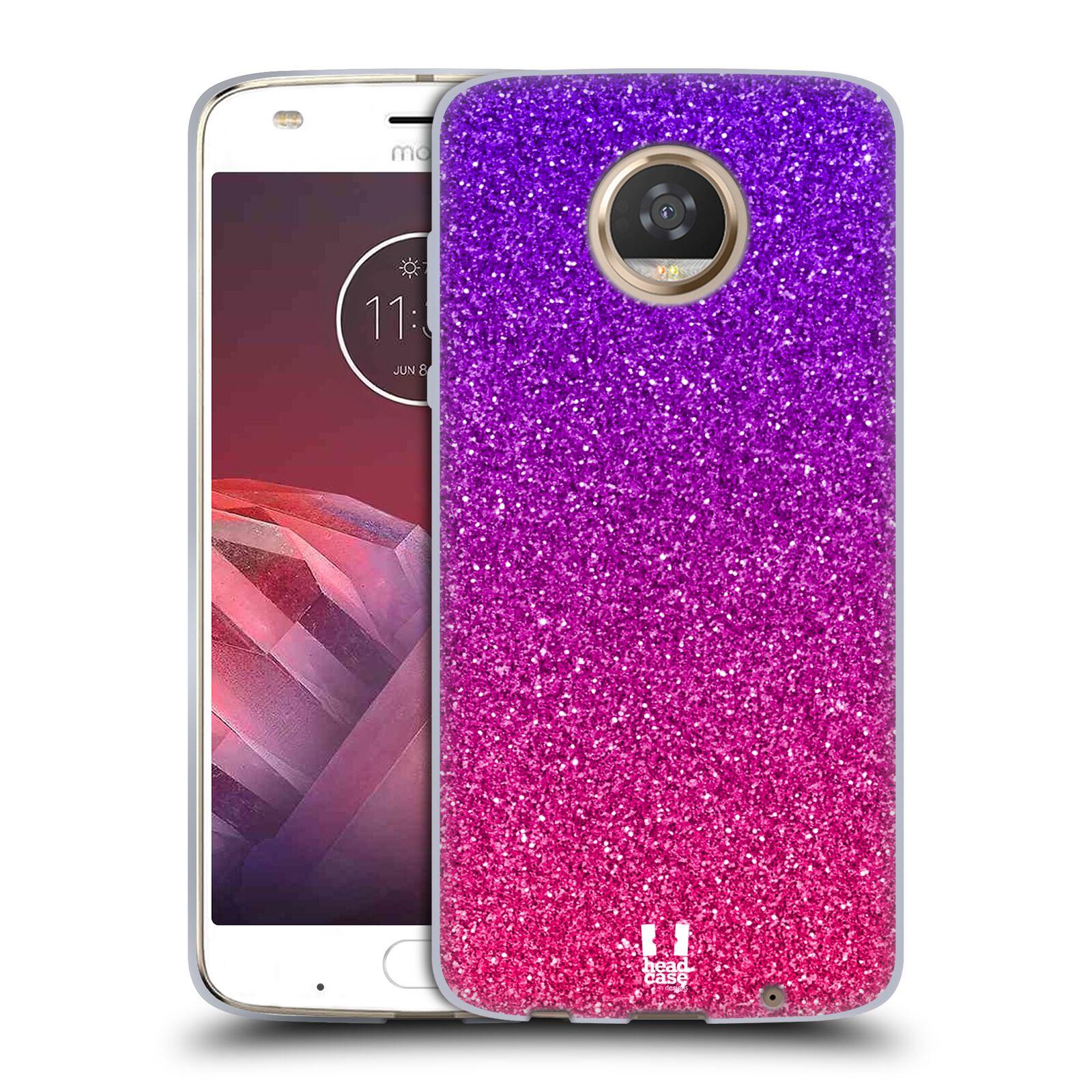 Silikonové pouzdro na mobil Lenovo Moto Z2 Play - Head Case - Mix Pink (Silikonový kryt či obal na mobilní telefon Lenovo Moto Z2 Play s motivem Mix Pink)